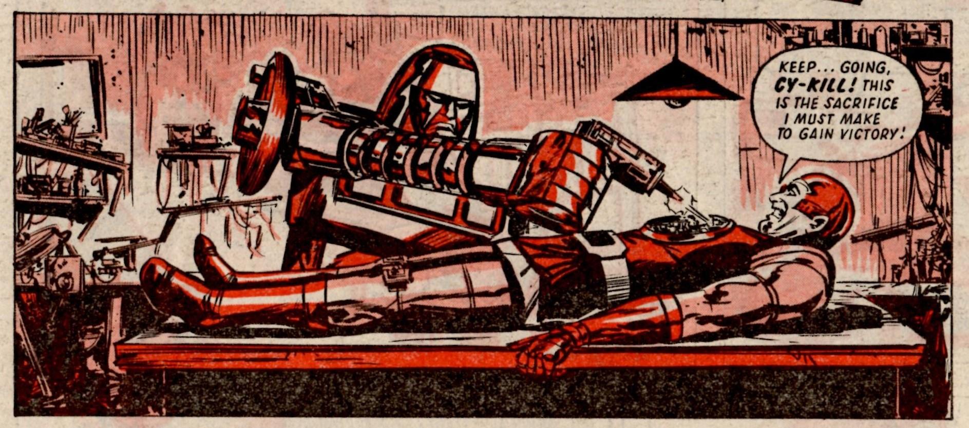 The Robo Machines: Tom Tully (writer), Kim Raymond (artist)