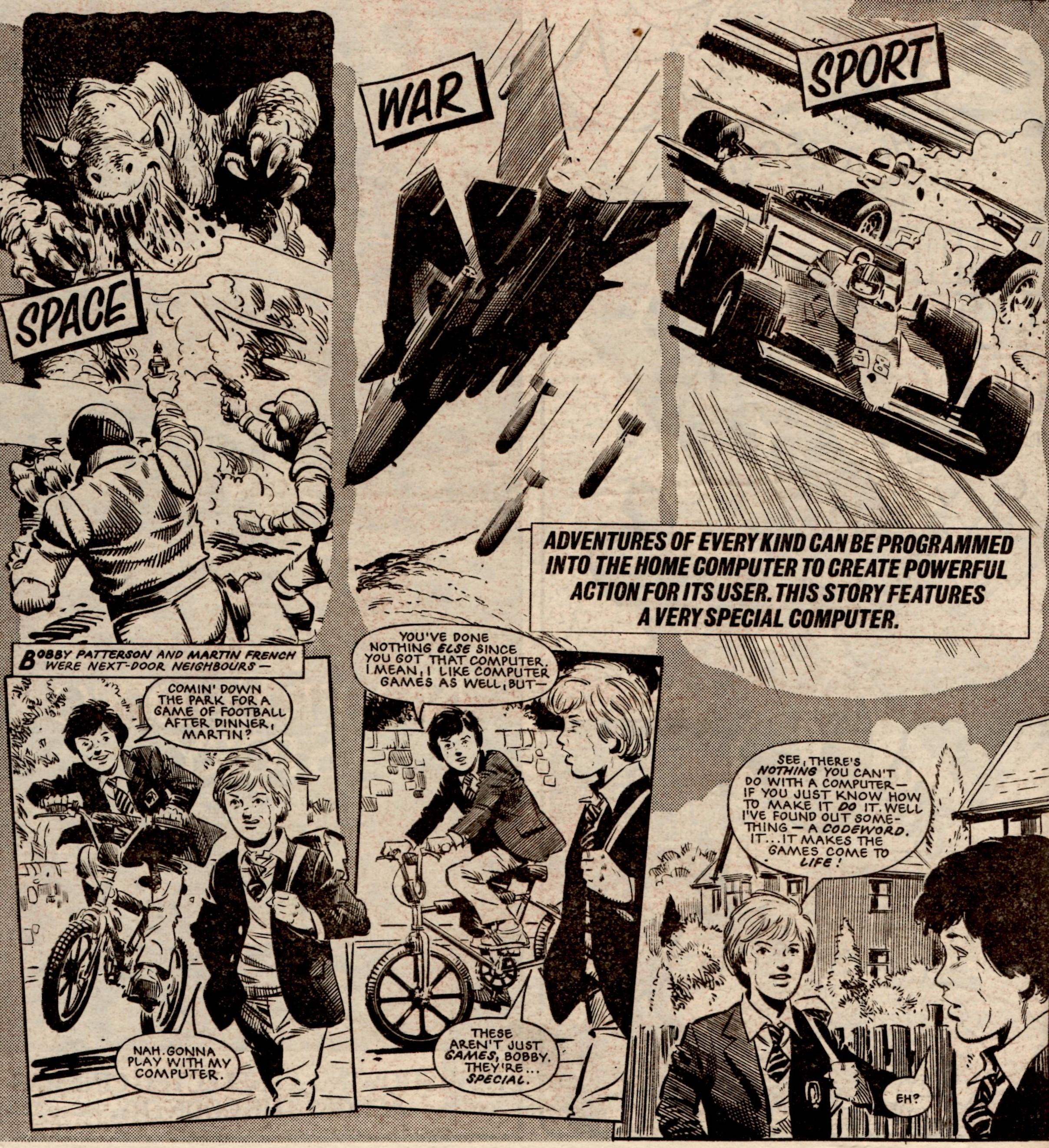 The Ultimate Warrior: Alan Grant (writer), John Cooper (artist)