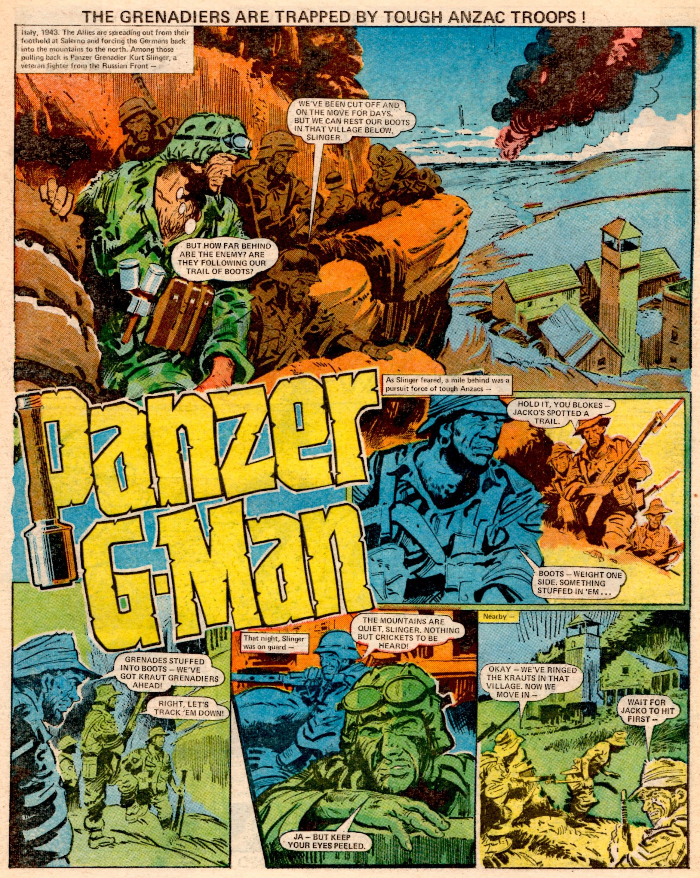 Panzer G-Man: Gerry Finley-Day (writer), Jim Watson (artist)