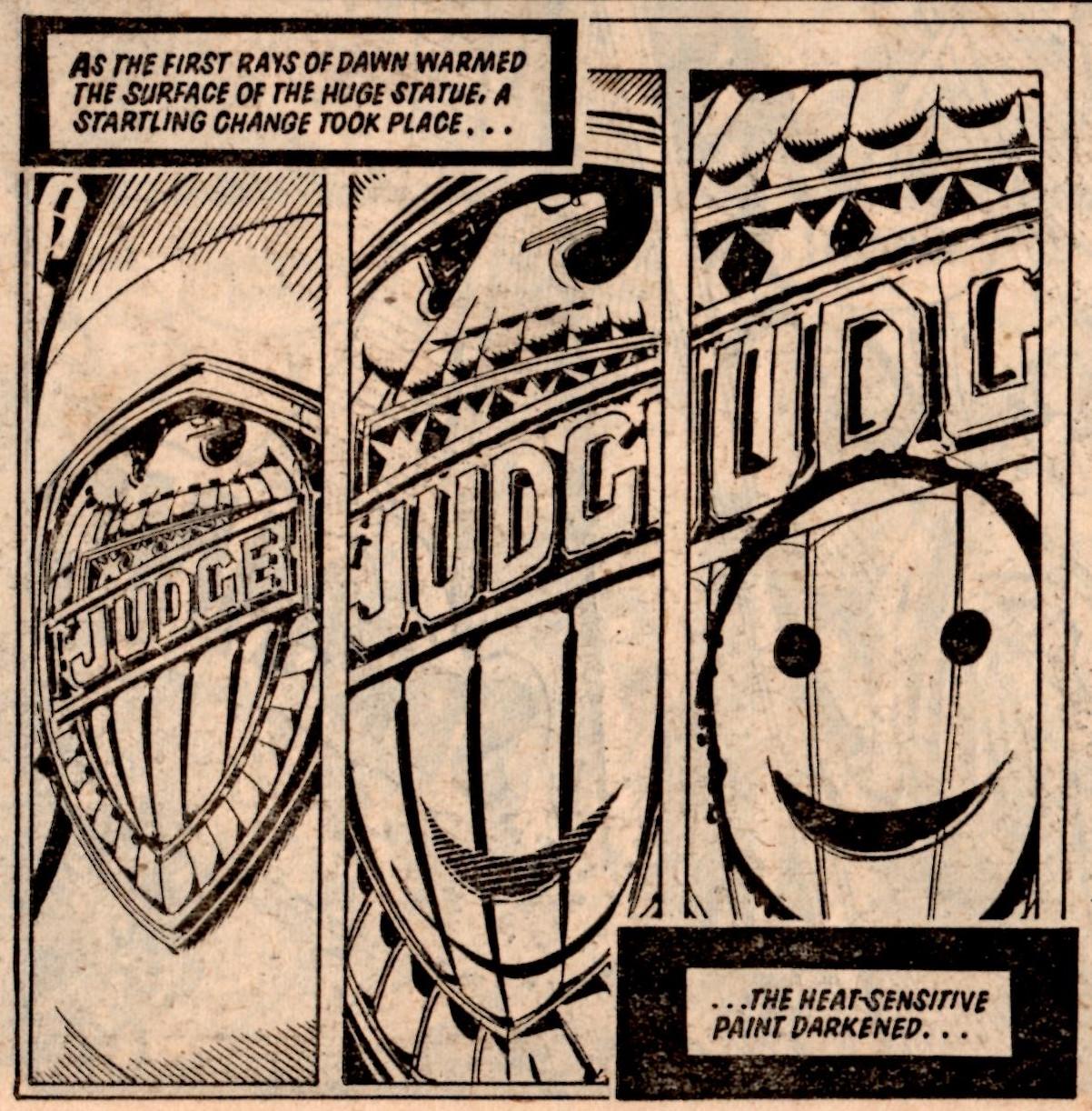 Judge Dredd: Unamerican Graffiti: John Wagner (writer), Ron Smith (artist)