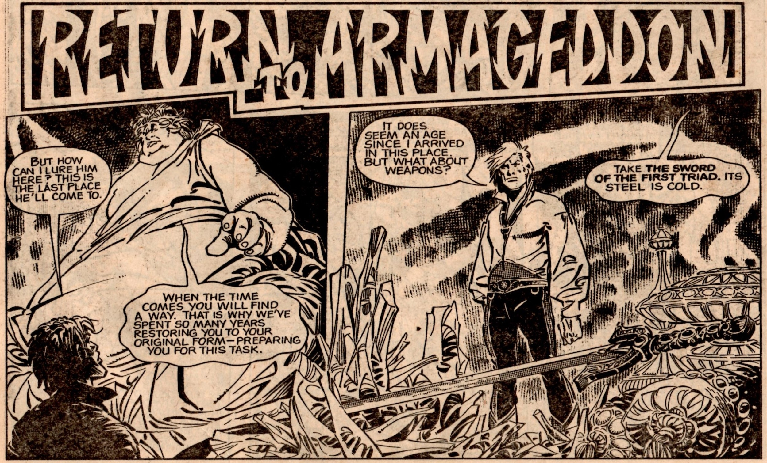 Return to Armageddon: Malcolm Shaw (writer), Jesus Redondo (artist)