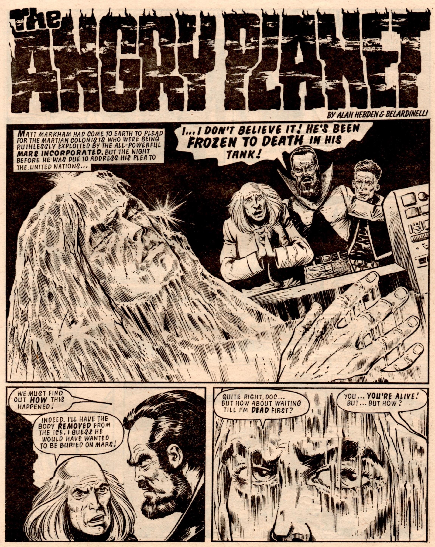 The Angry Planet: Alan Hebden (writer), Massimo Belardinelli (artist)