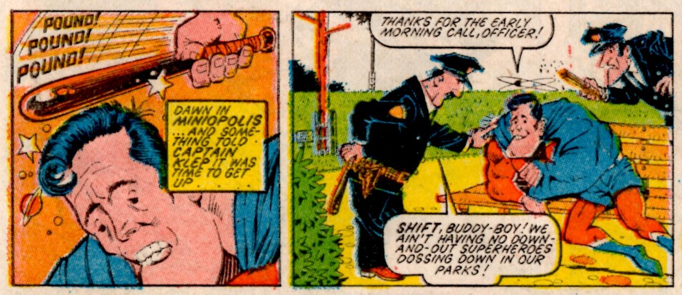 Captain Klep: Dave Angus and Nick Laundau (writers), Kevin O'Neill (artist)