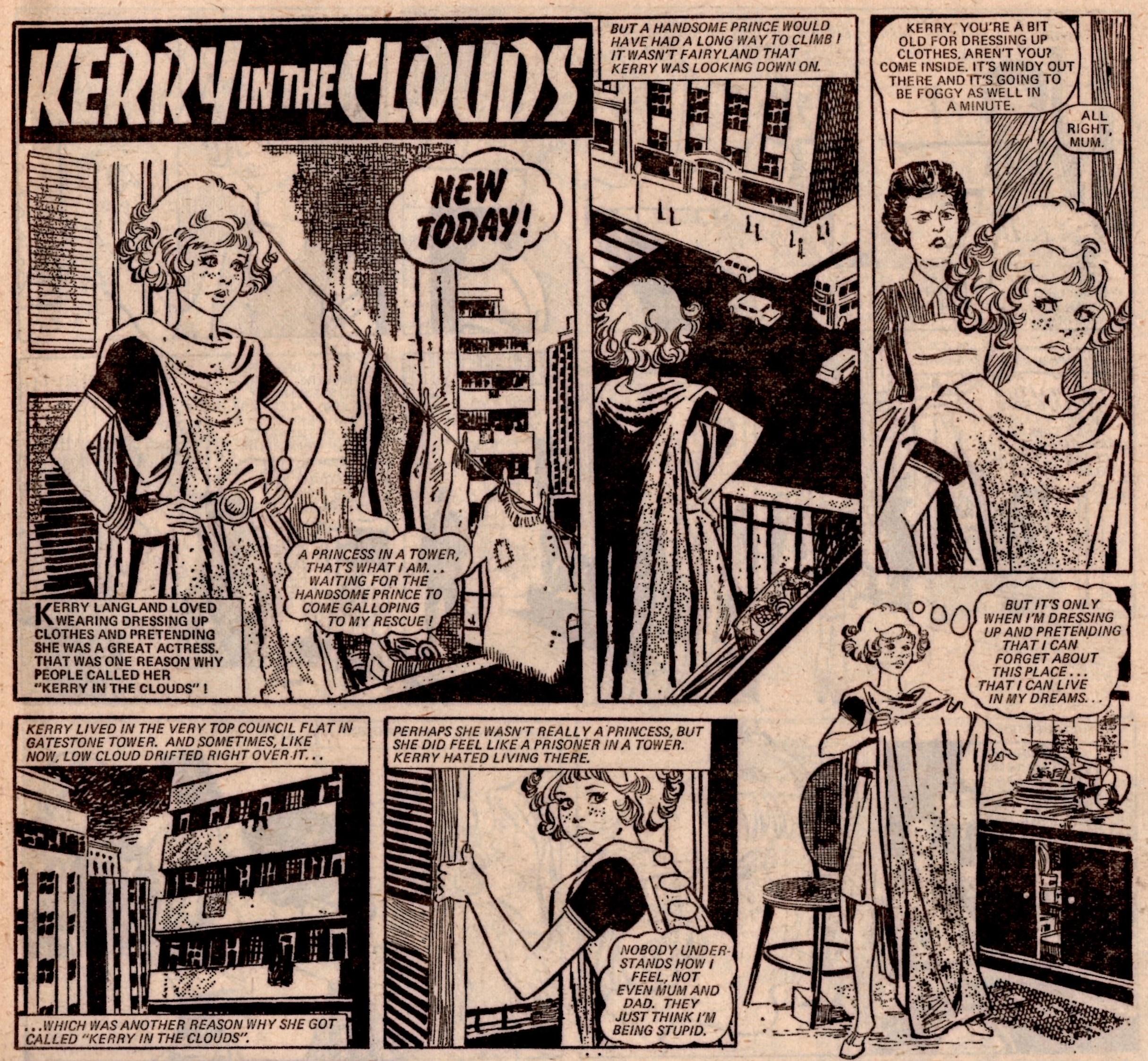 Kerry in the Clouds: Alan Davidson (writer), Candido Ruiz Pueyo (artist)