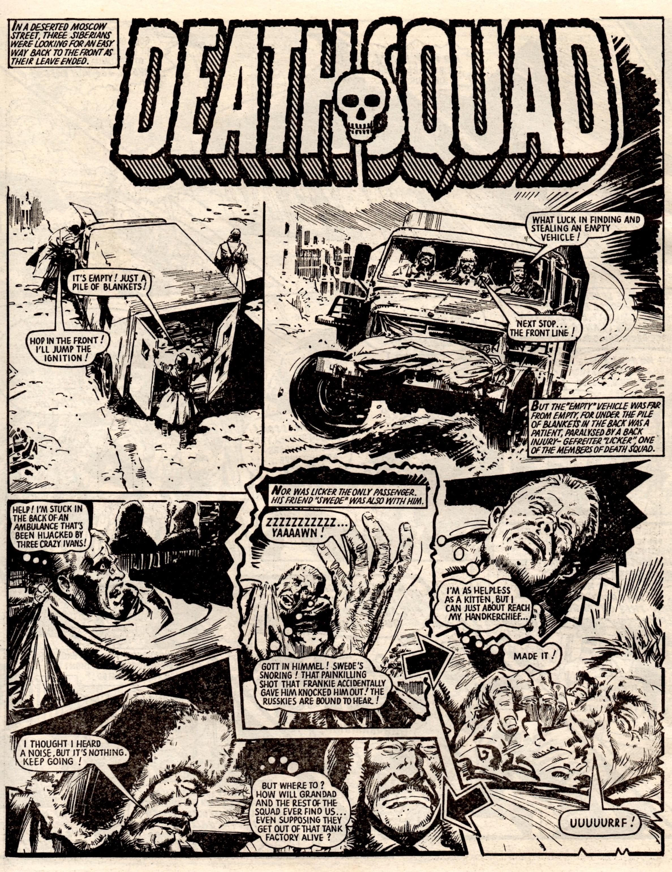 Death Squad: Alan Hebden (writer), Eric Bradbury (artist)