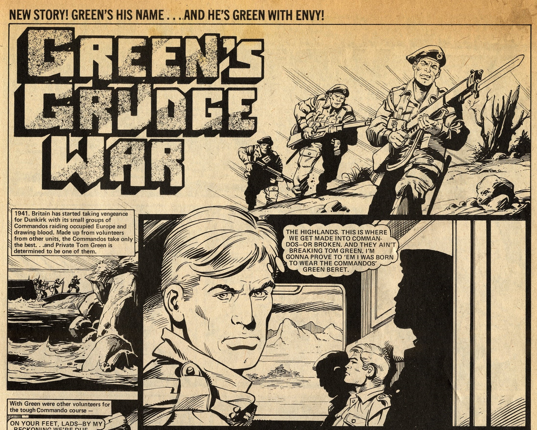 Green's Grudge War: Massimo Belardinelli (artist)