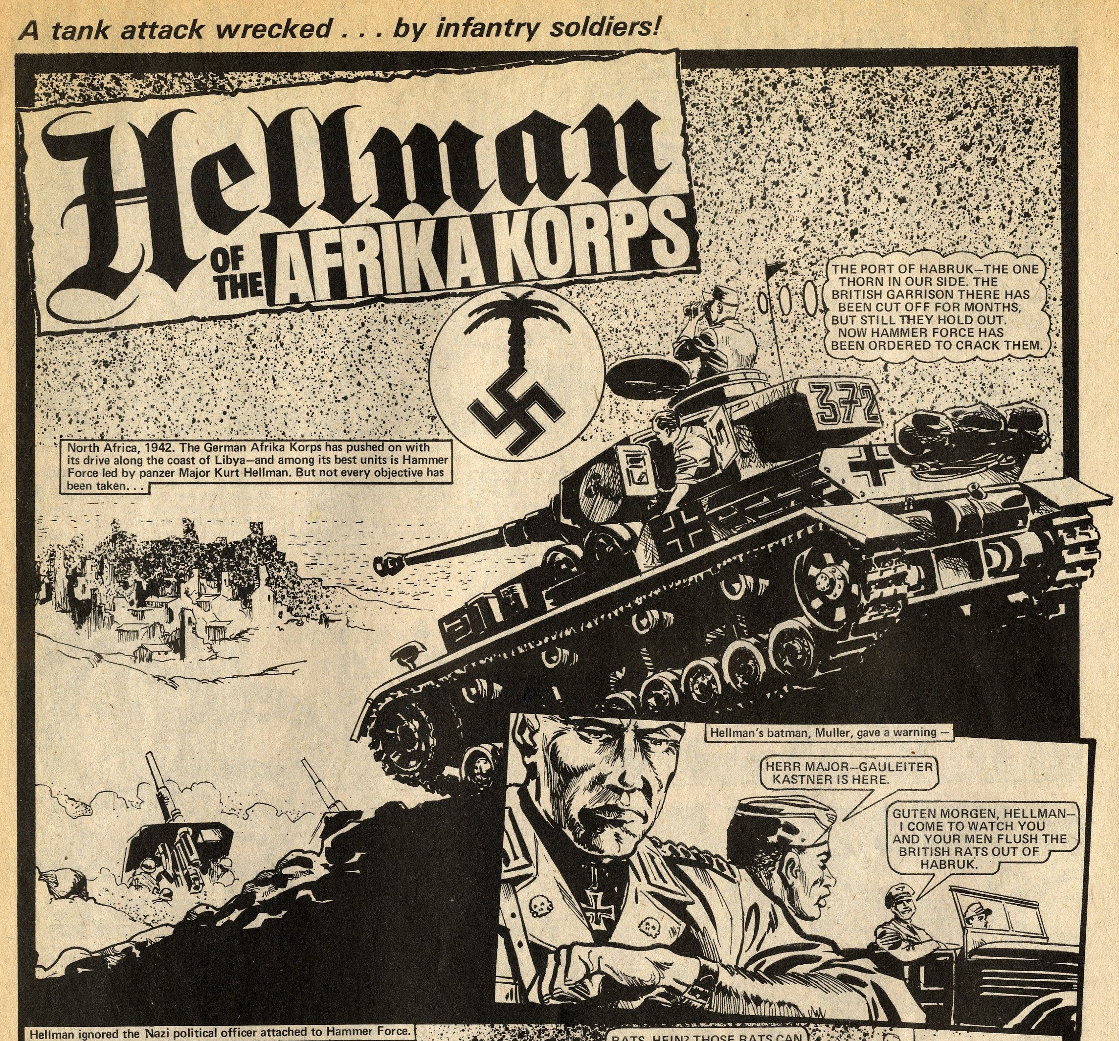 Hellman of the Afrika Corps: Gerry Finley-Day (writer), Mike Dorey (artist)