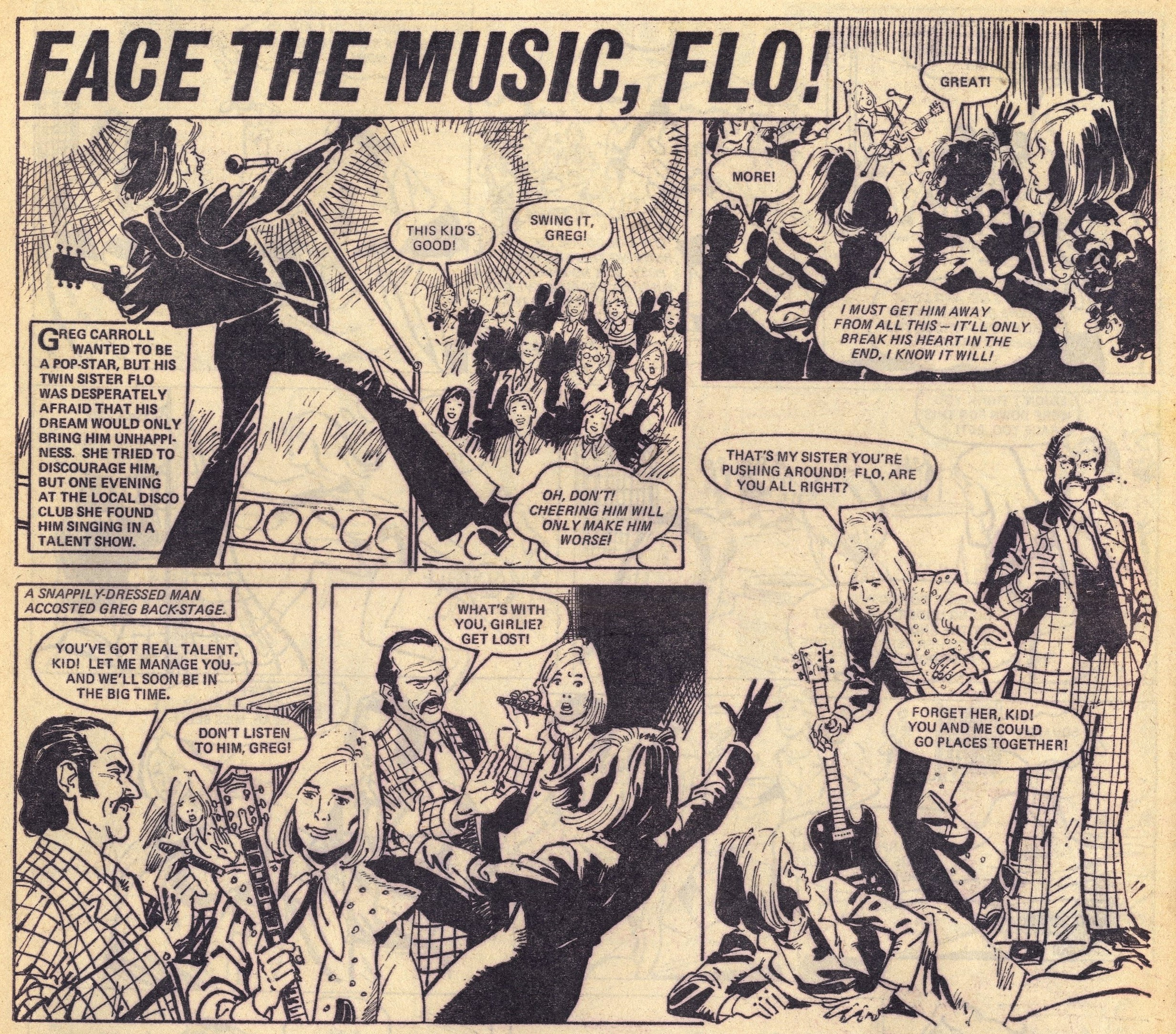Face the Music, Flo!: Jim Baikie (artist)