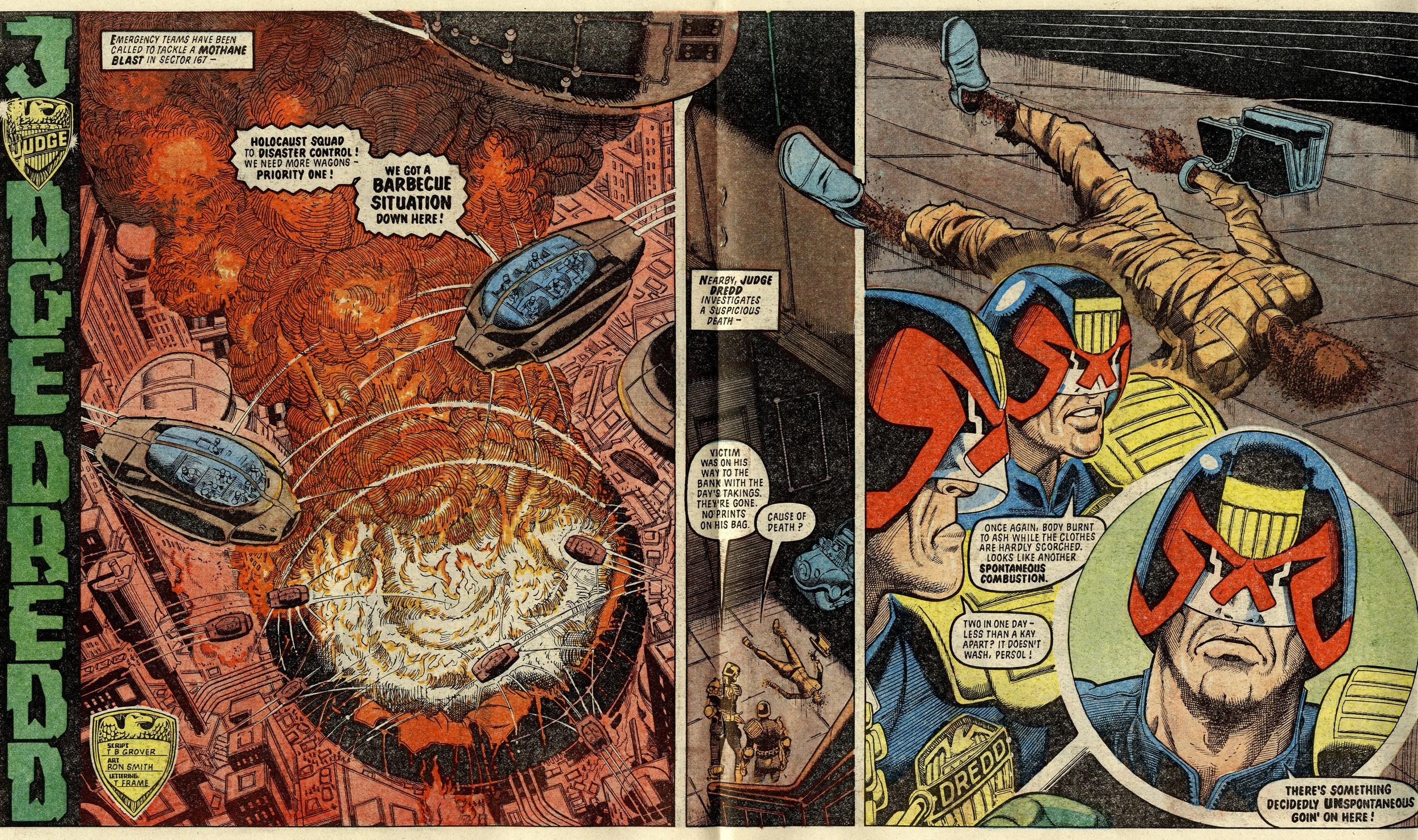 Judge Dredd: John Wagner (writer), Ron Smith (artist)
