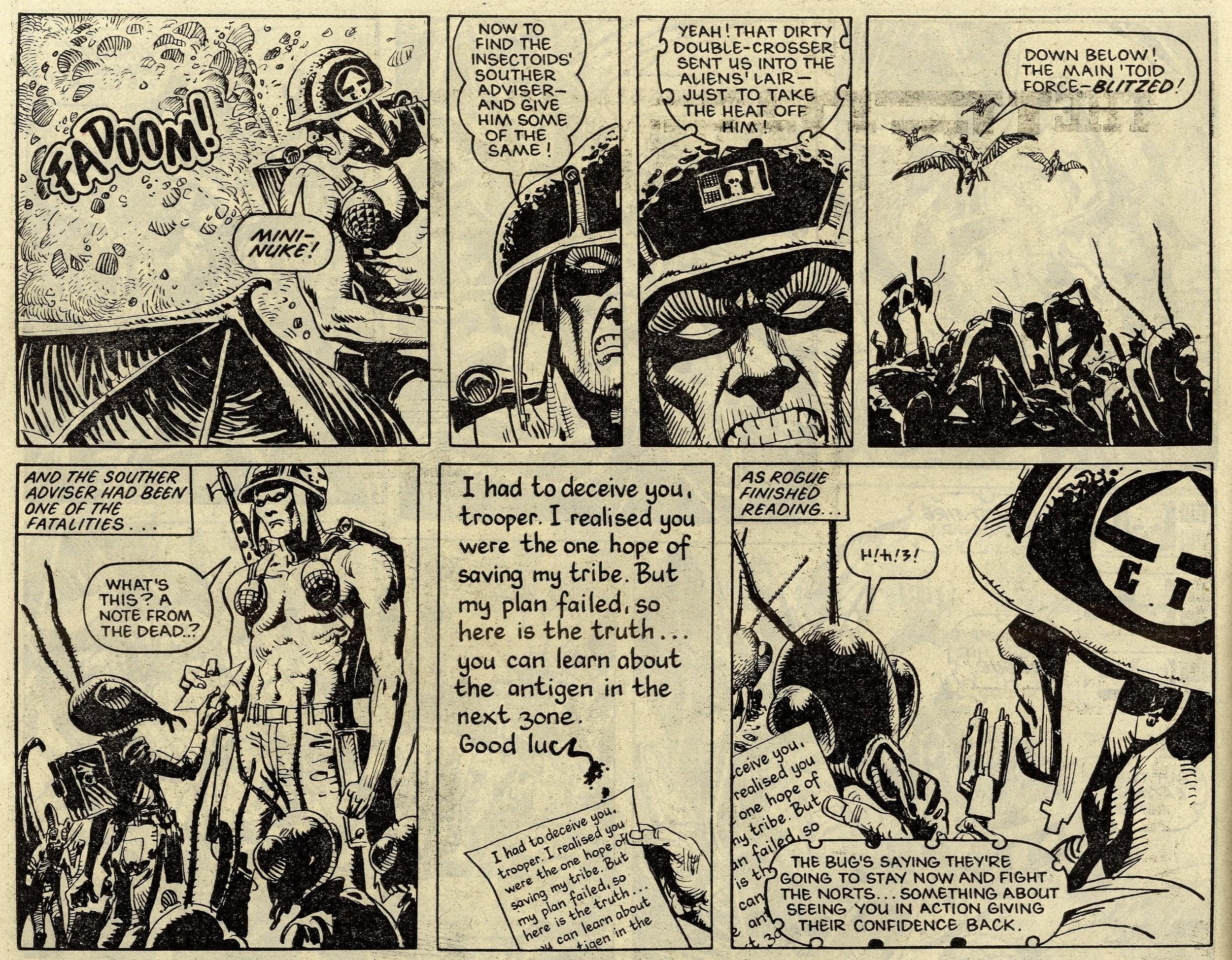 Rogue Trooper: Gerry Finley-Day (writer), Jose Ortiz (artist)