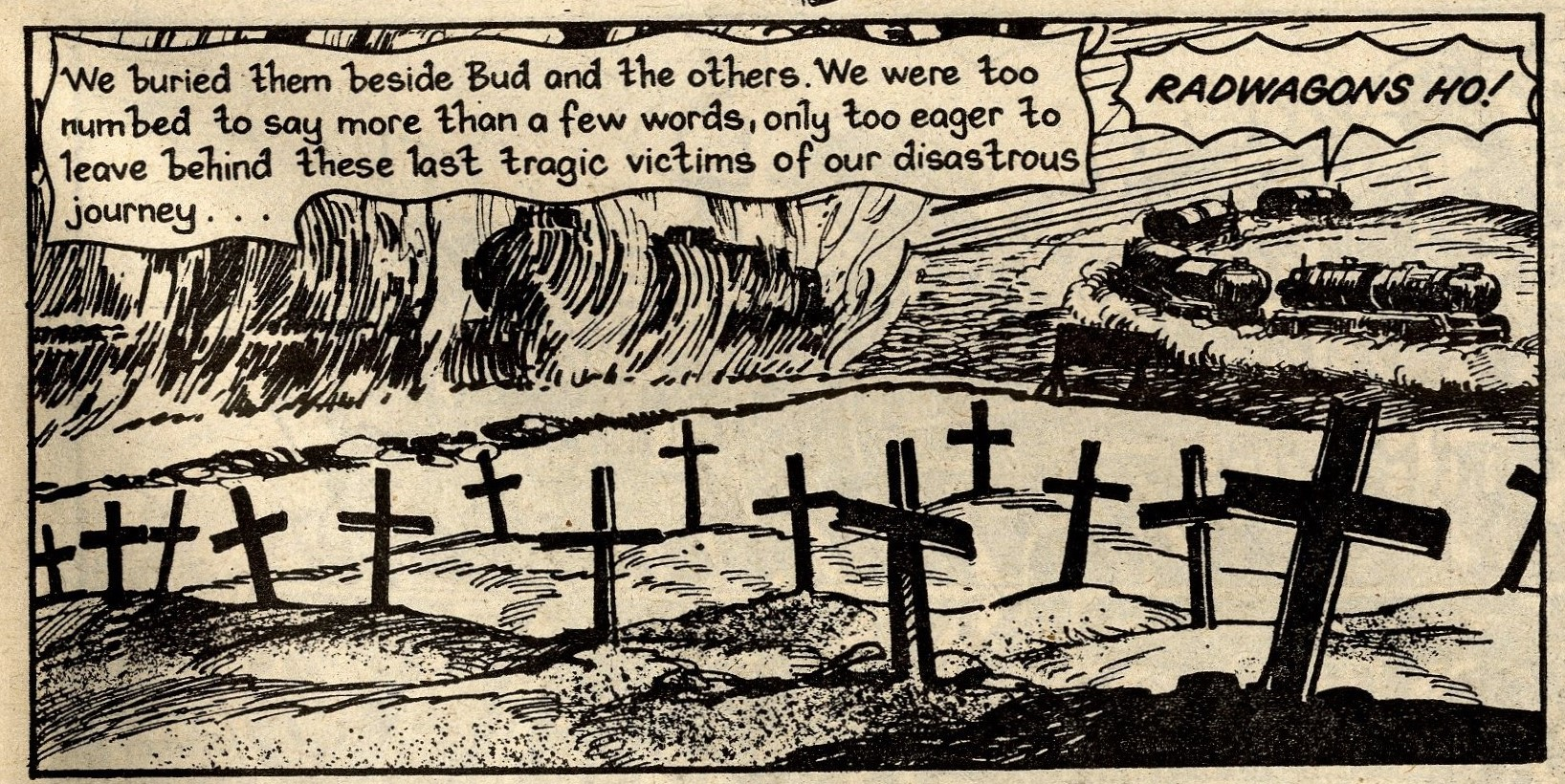 Hell-trekkers: John Wagner and Alan Grant (writers), Horacio Lalia (artist)