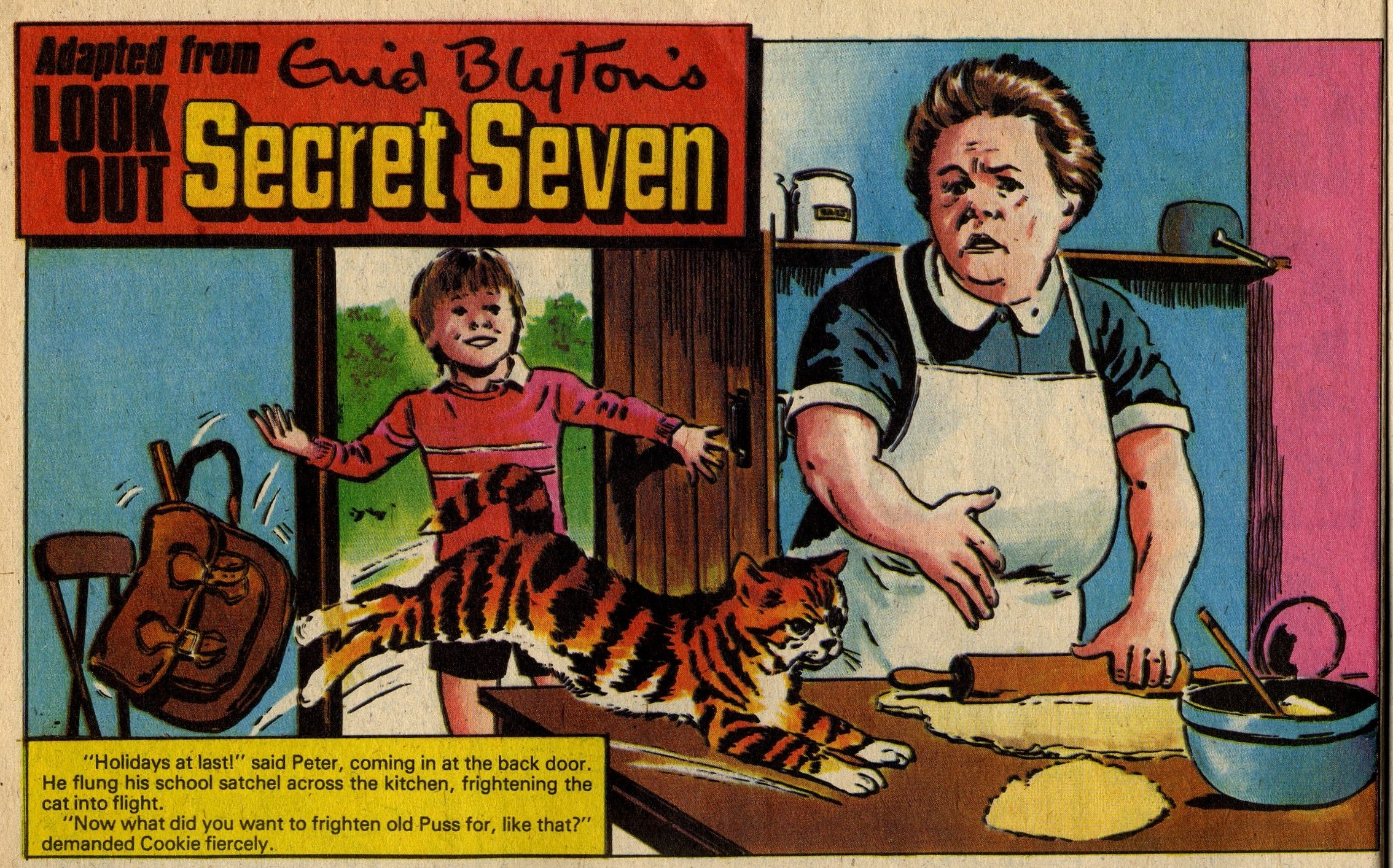 Look Out Secret Seven: John Armstrong (artist), adapted from Enid Blyton