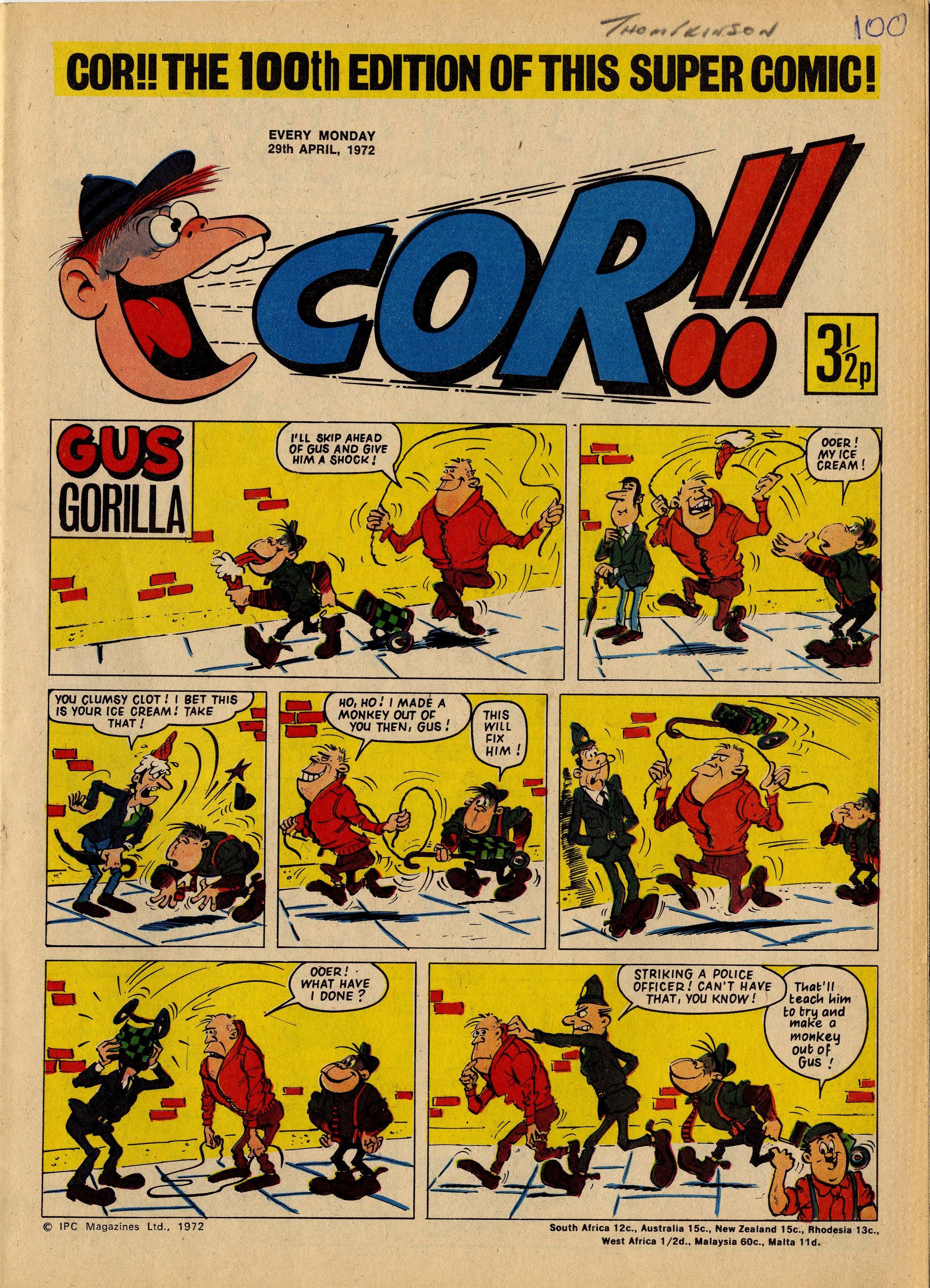 Gus Gorilla: Alf Saporito (artist)