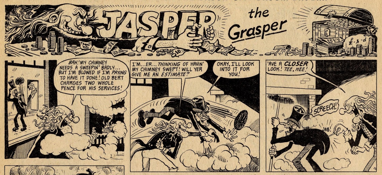 Jasper the Grasper:Trevor Metcalfe (artist)