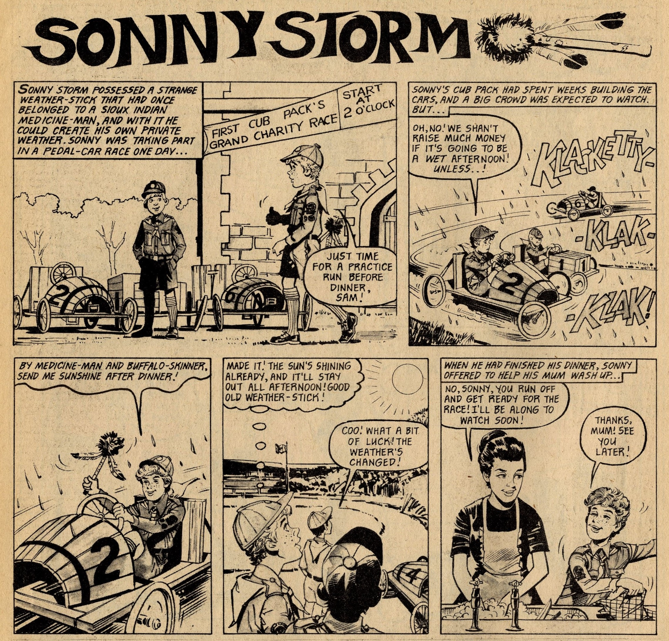 Sonny Storm: artist?