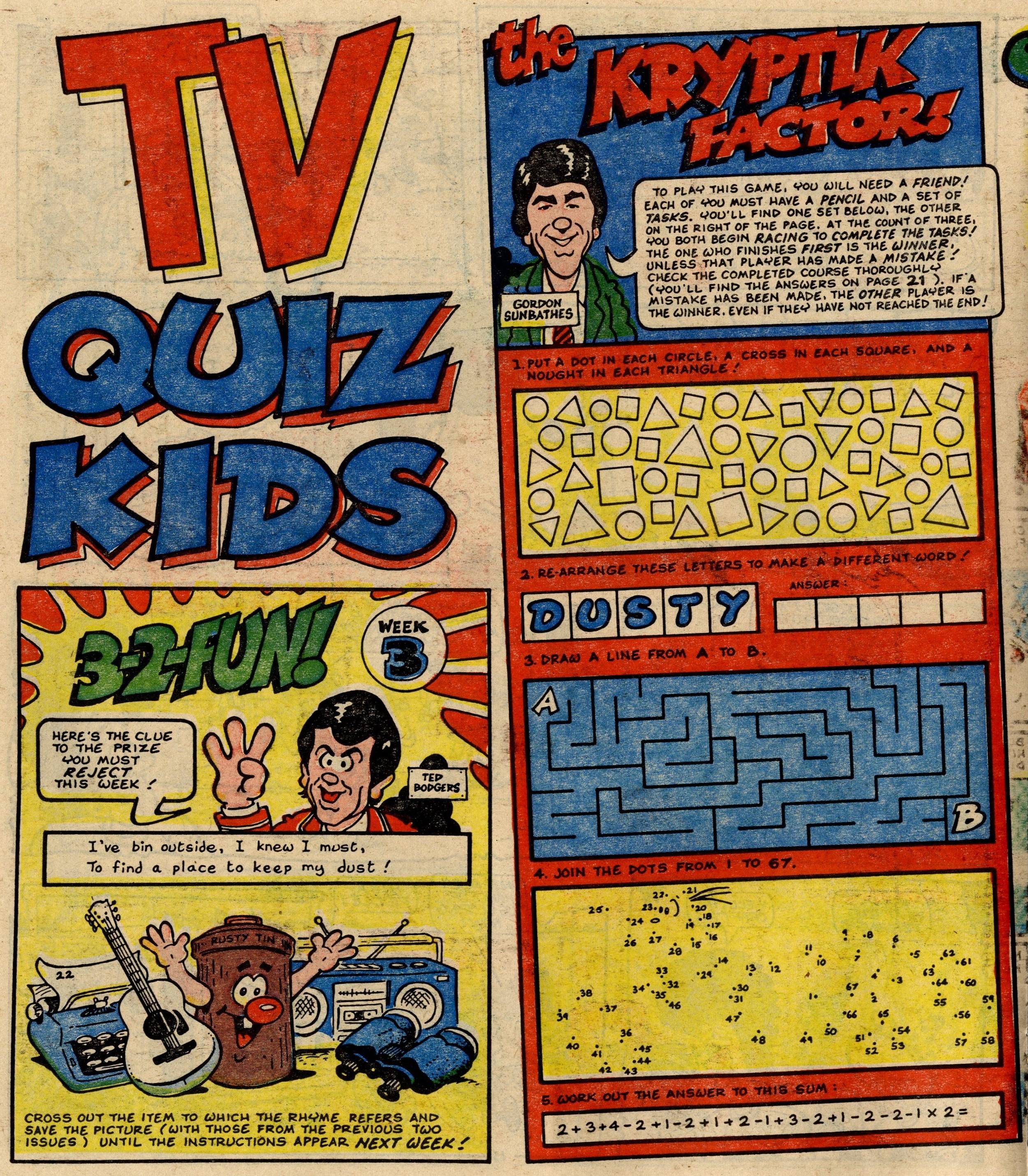 TV Quiz Kids: Jack Edward Oliver (artist)