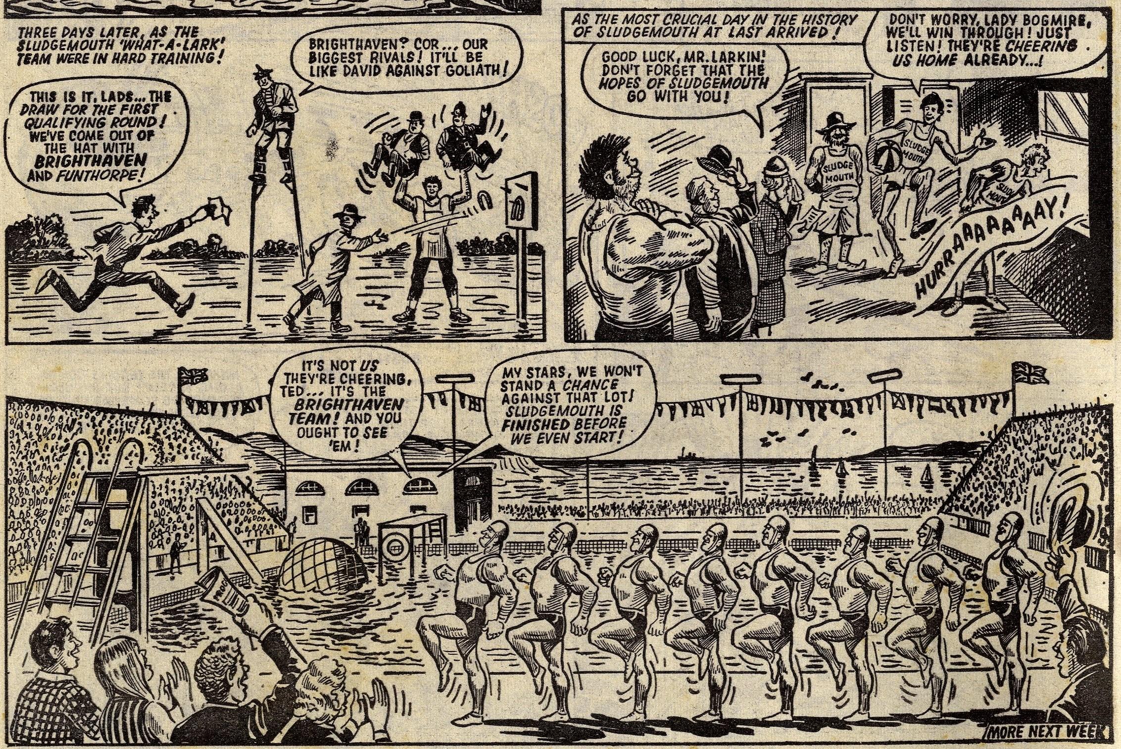 The Sludgemouth Sloggers: Doug Maxted (artist)