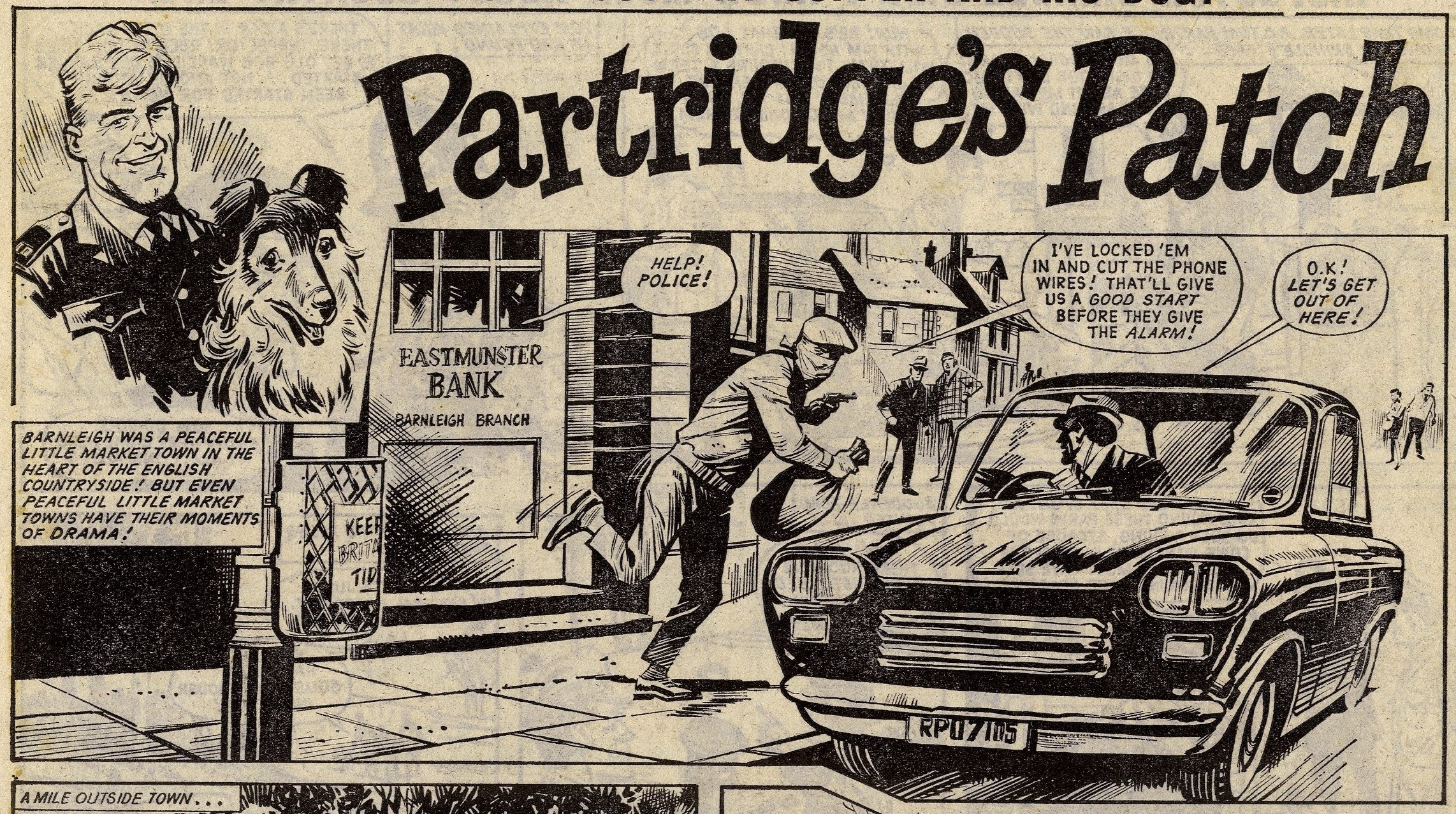 Partridge's Patch: Mike Western (artist)
