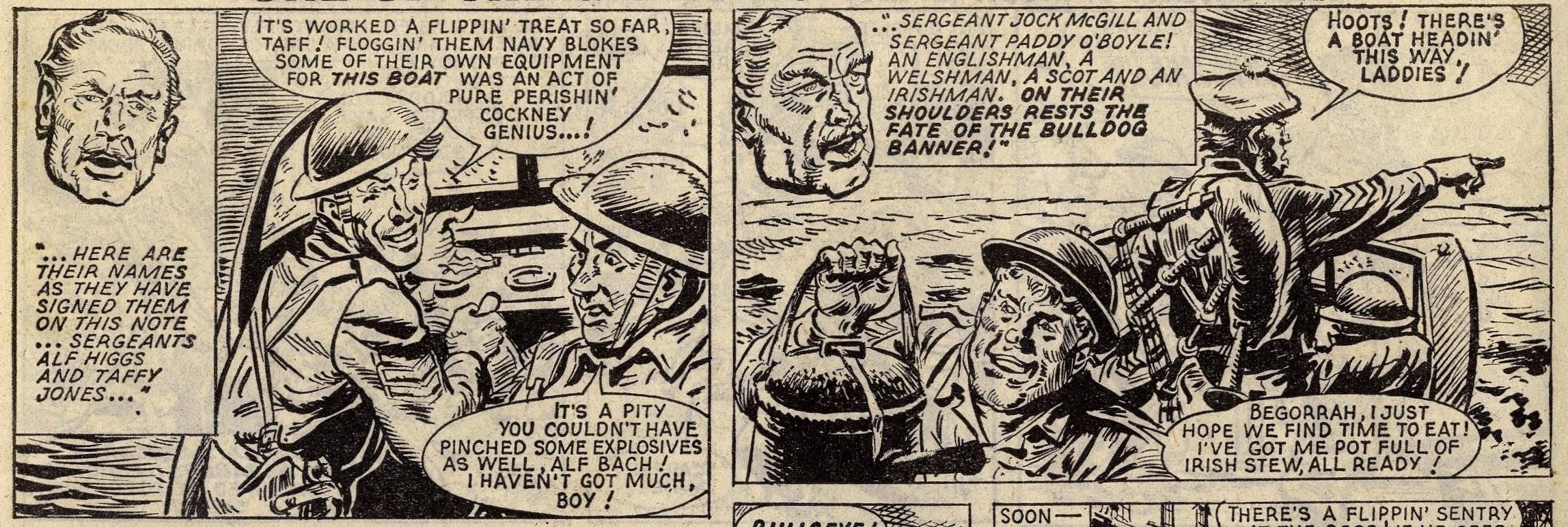 Sergeants Four: Fed Holmes (artist)