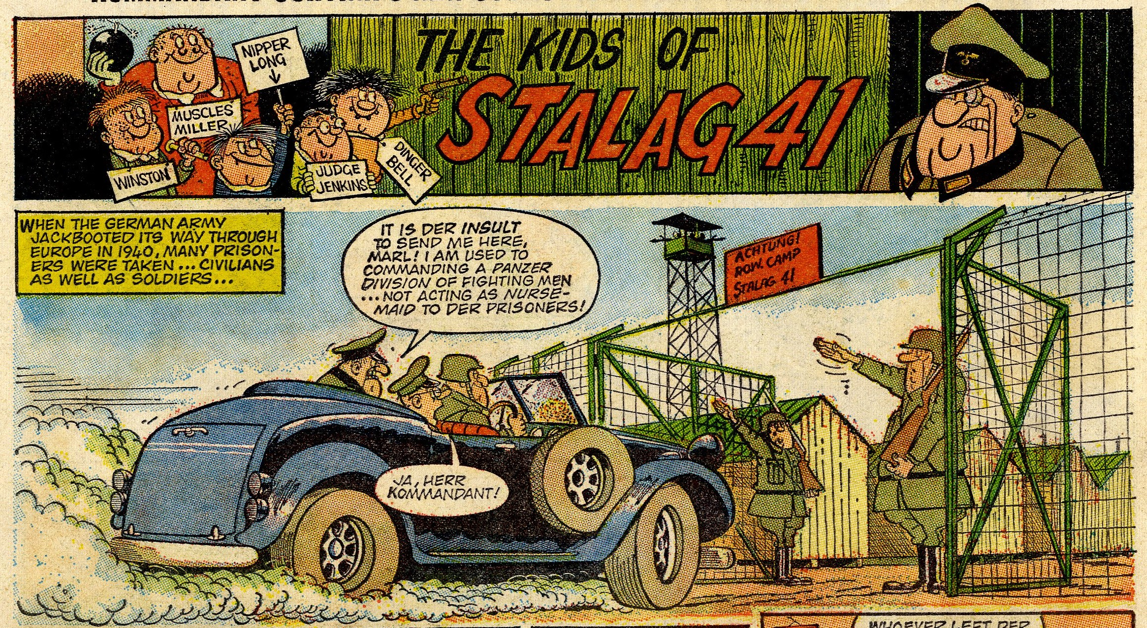 The Kids of Stalag 41: Mike Lacey (artist)