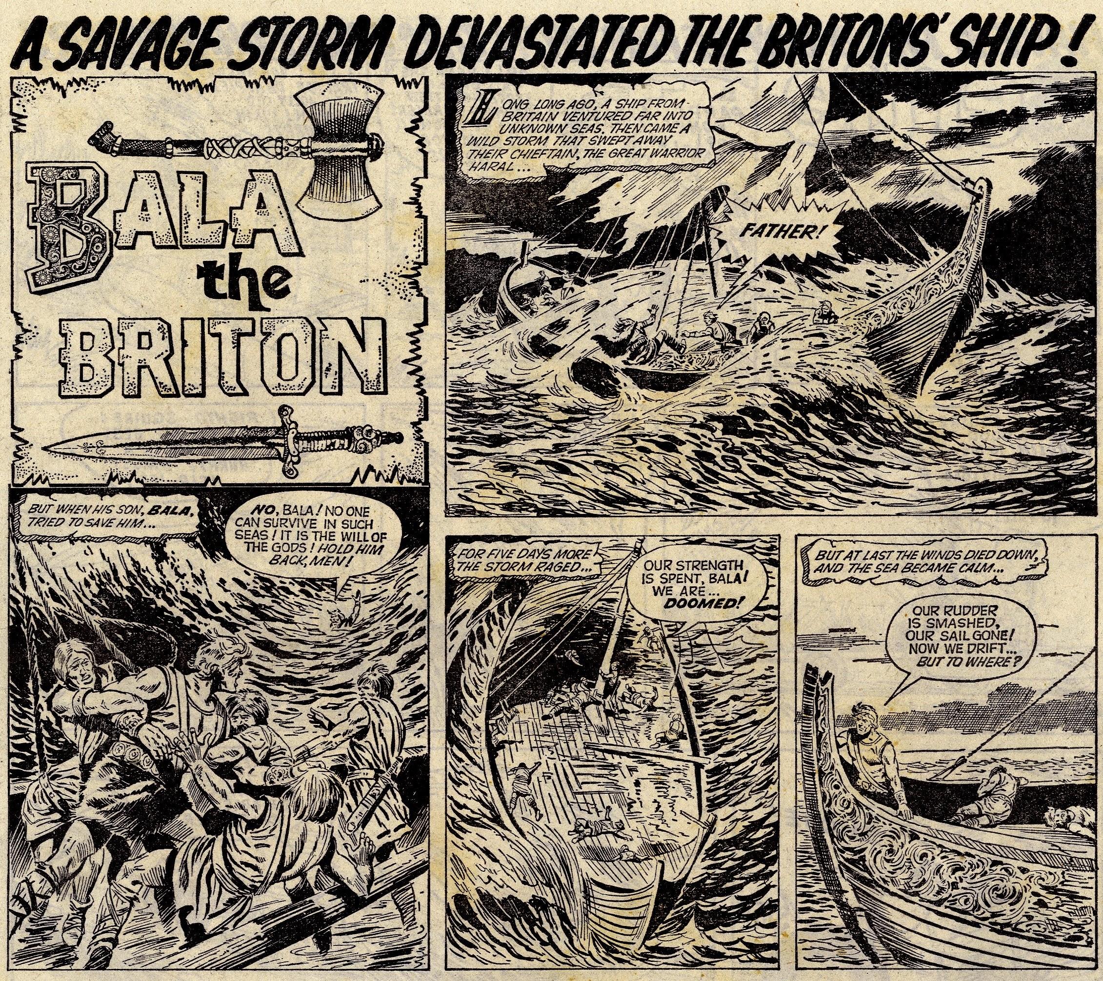 Bala the Briton: artist unknown