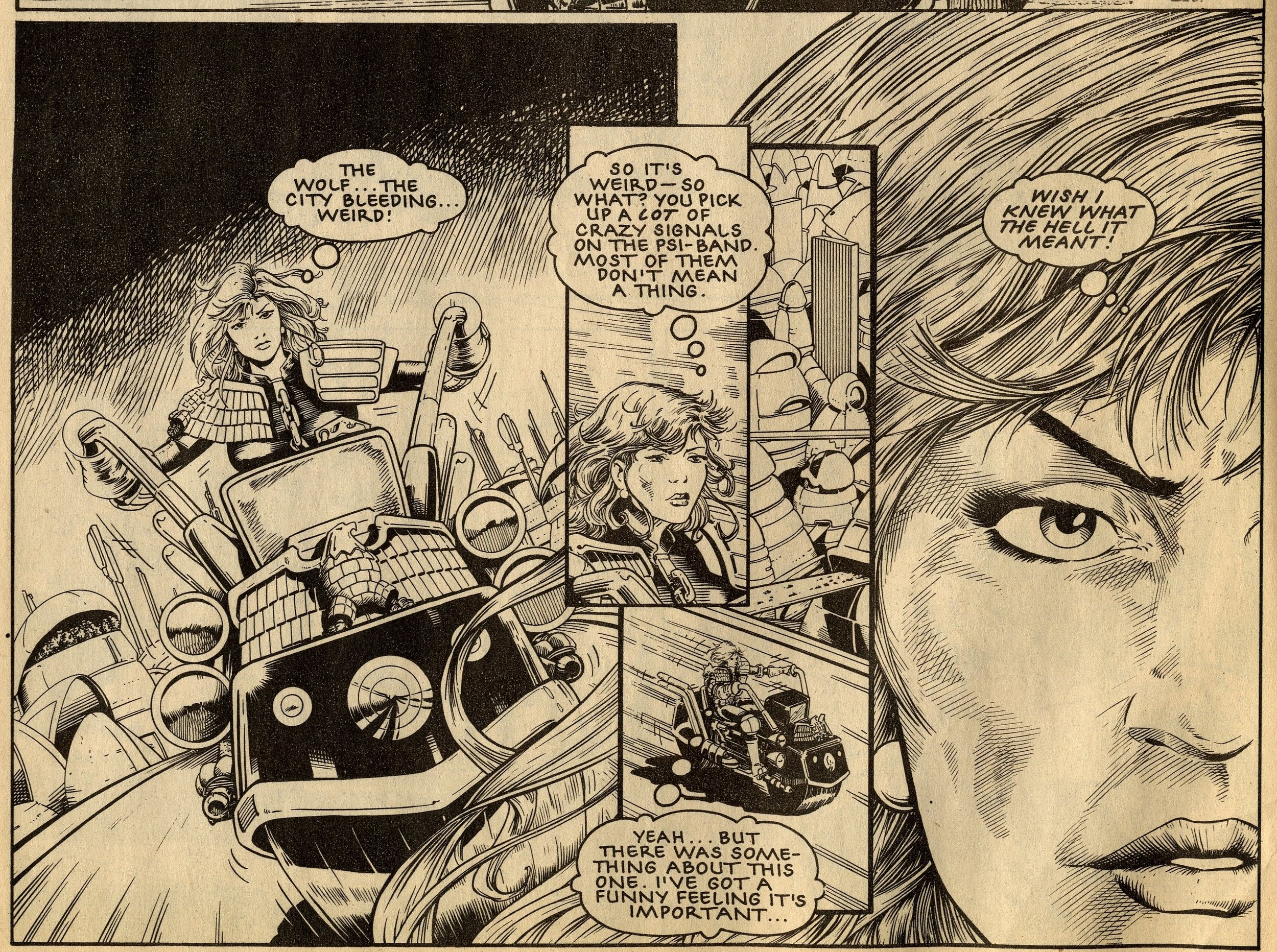 Anderson PSI Division: John Wagner and Alan Grant (writers), Barry Kitson (artist)