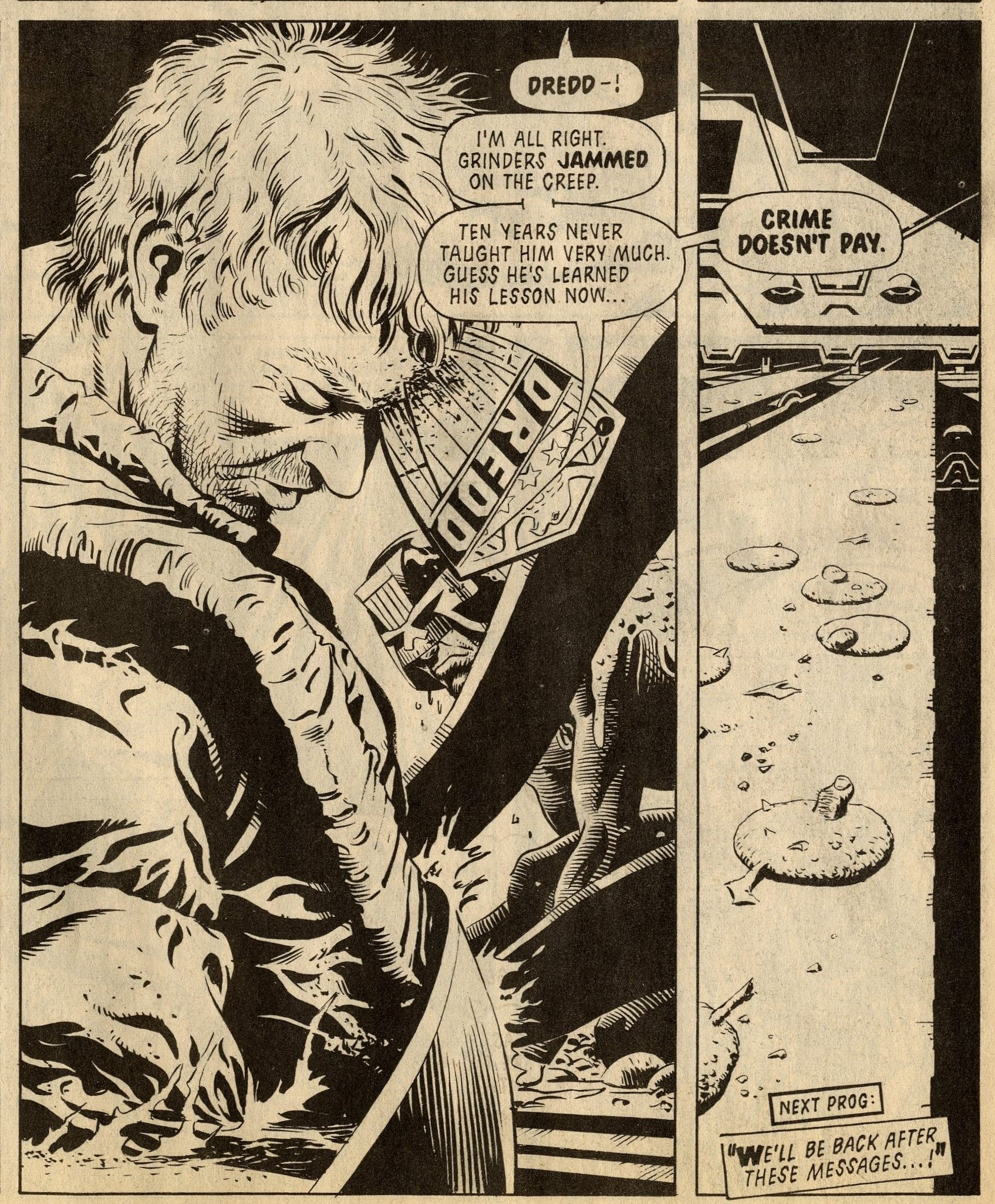 Judge Dredd: John Wagner and Alan Grant (writer), Garry Leach (artist)