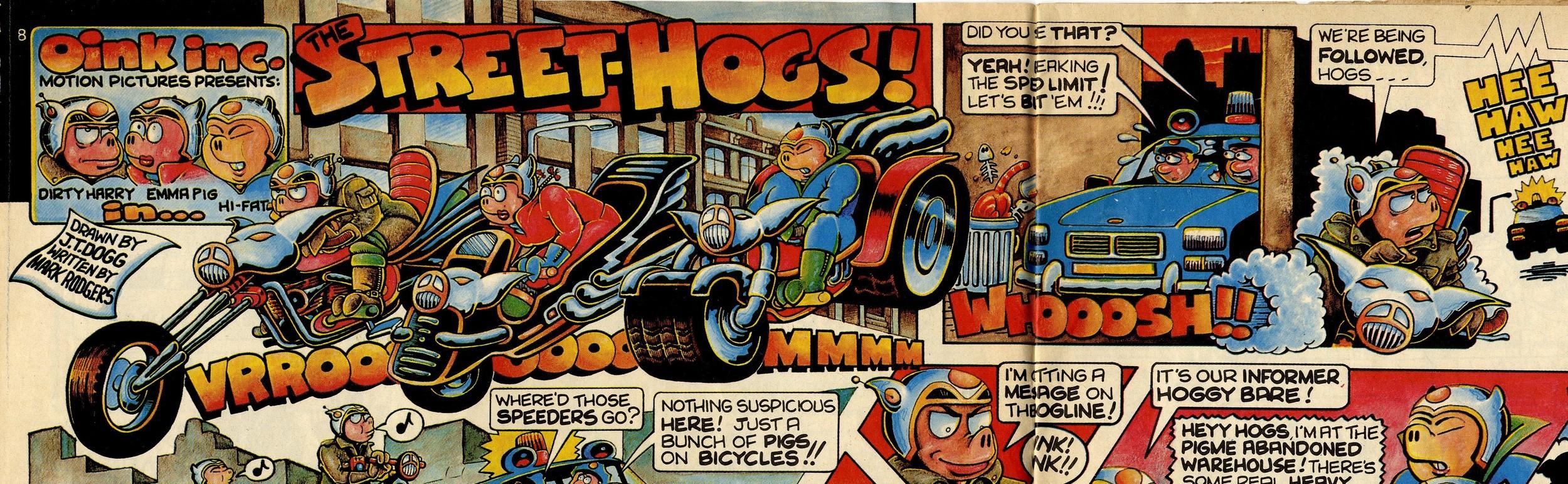The Street-hogs!: Mark Rodgers (writer), Malcolm Douglas (artist)