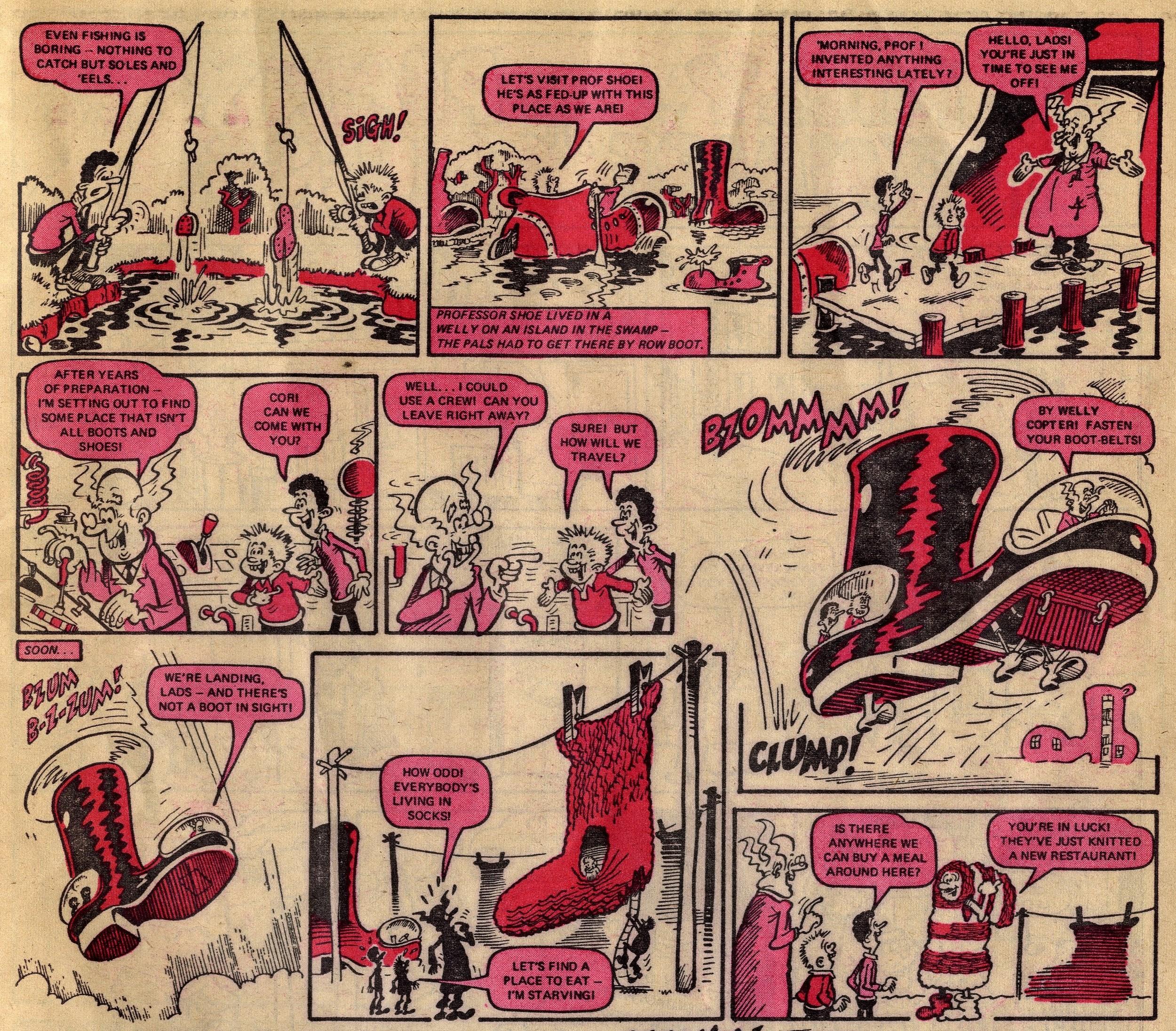 Terry and Gavin's Funtastic Journey: Ian Knox (artist)