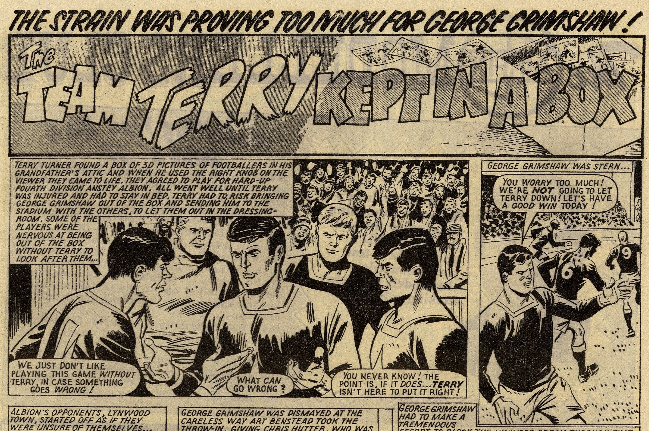 The Team Terry Kept in a Box: Mike White (artist)