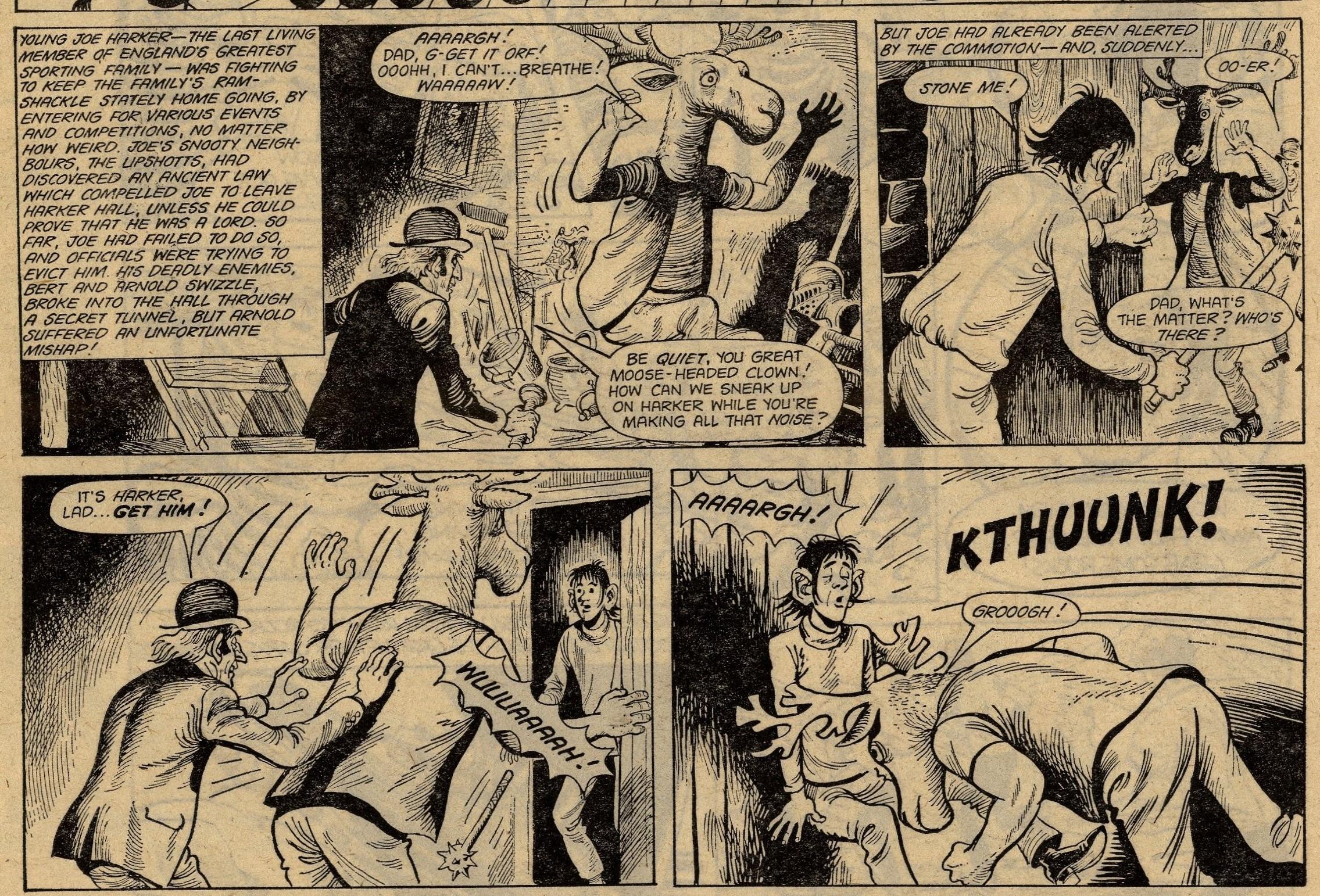 The Last of the Harkers:   Tom Tully? (writer), John Stokes? (artist)