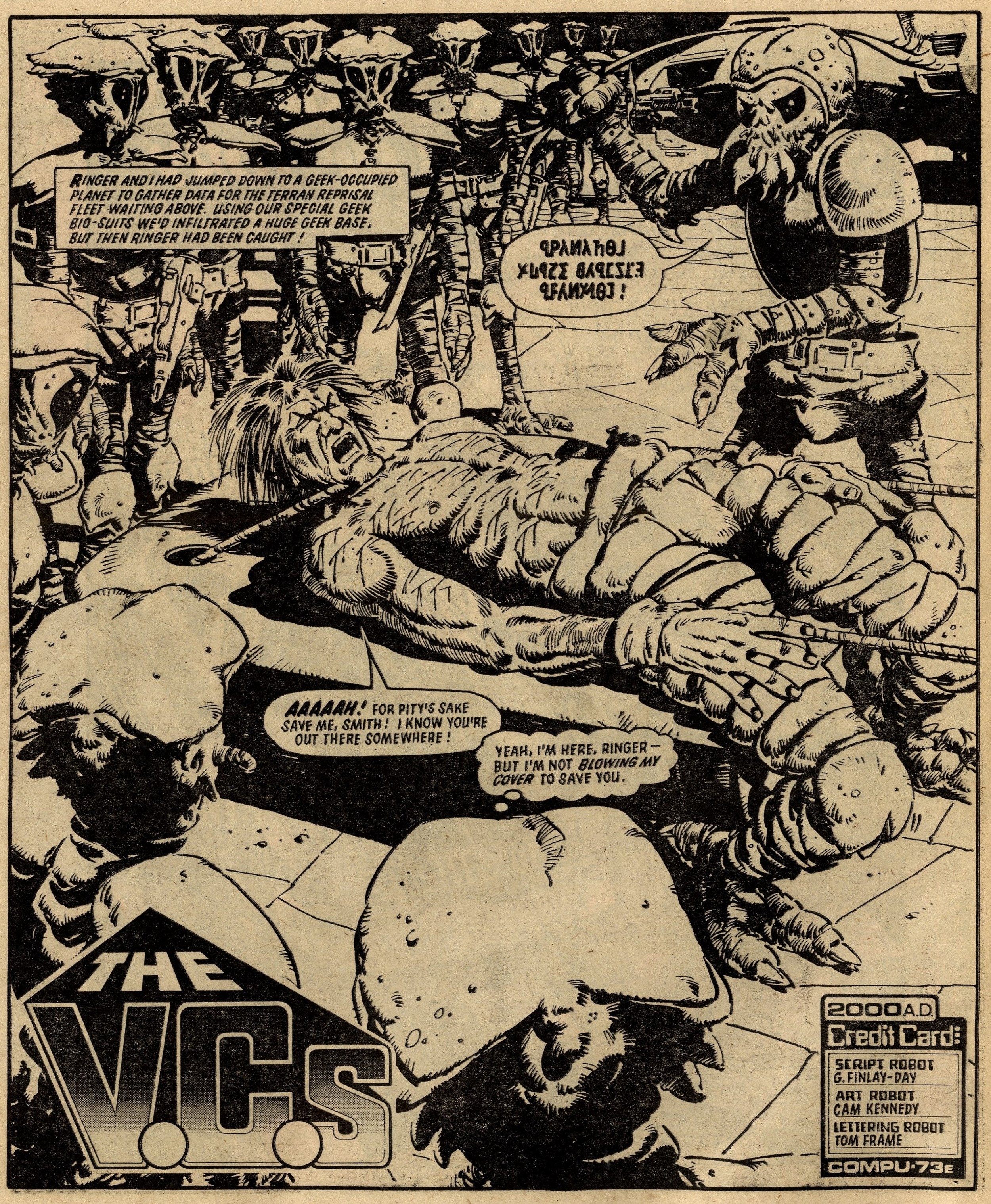 The V.C.s.: Gerry Finley-Day (writer), Cam Kennedy (artist)
