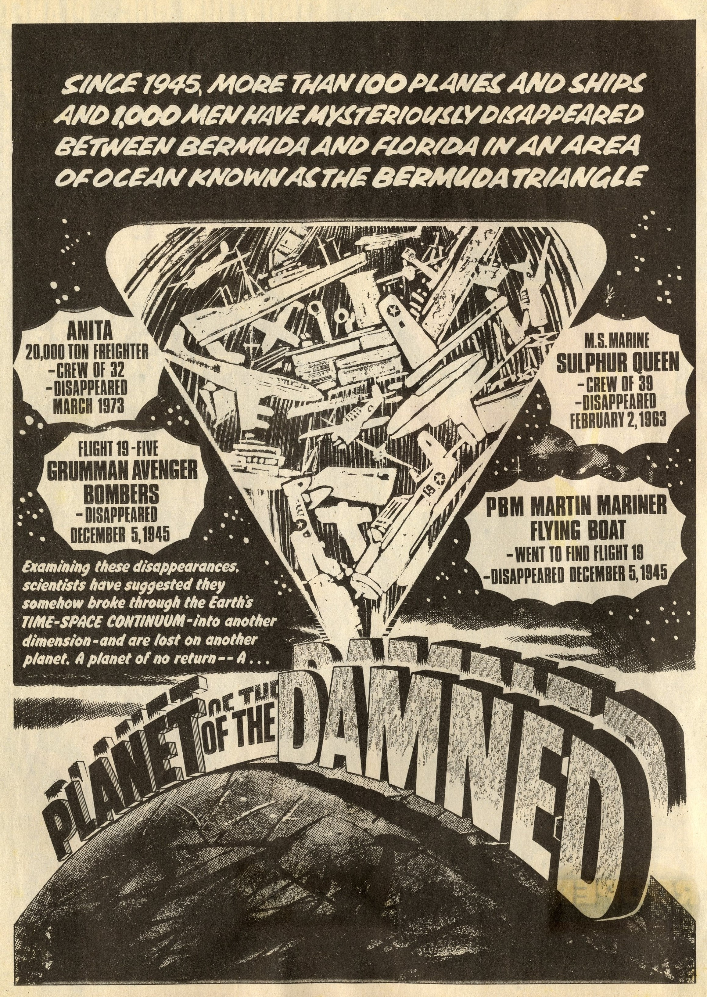 Planet of the Damned: Pat Mills (writer), Horacio Lalia (artist)