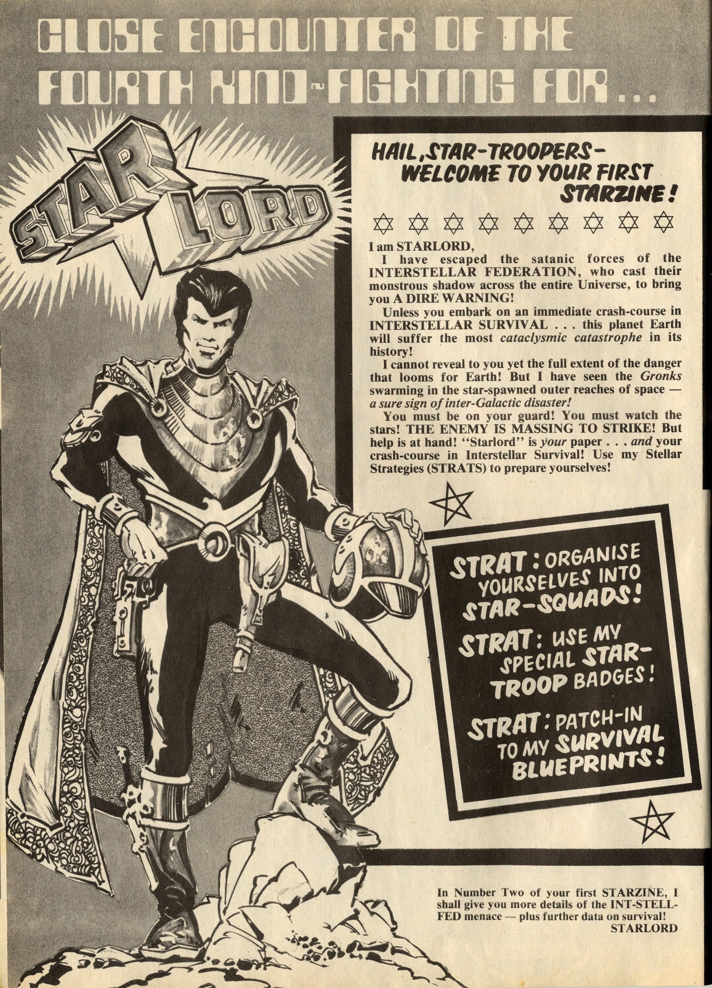 Starlord: Ian Gibson (artist)