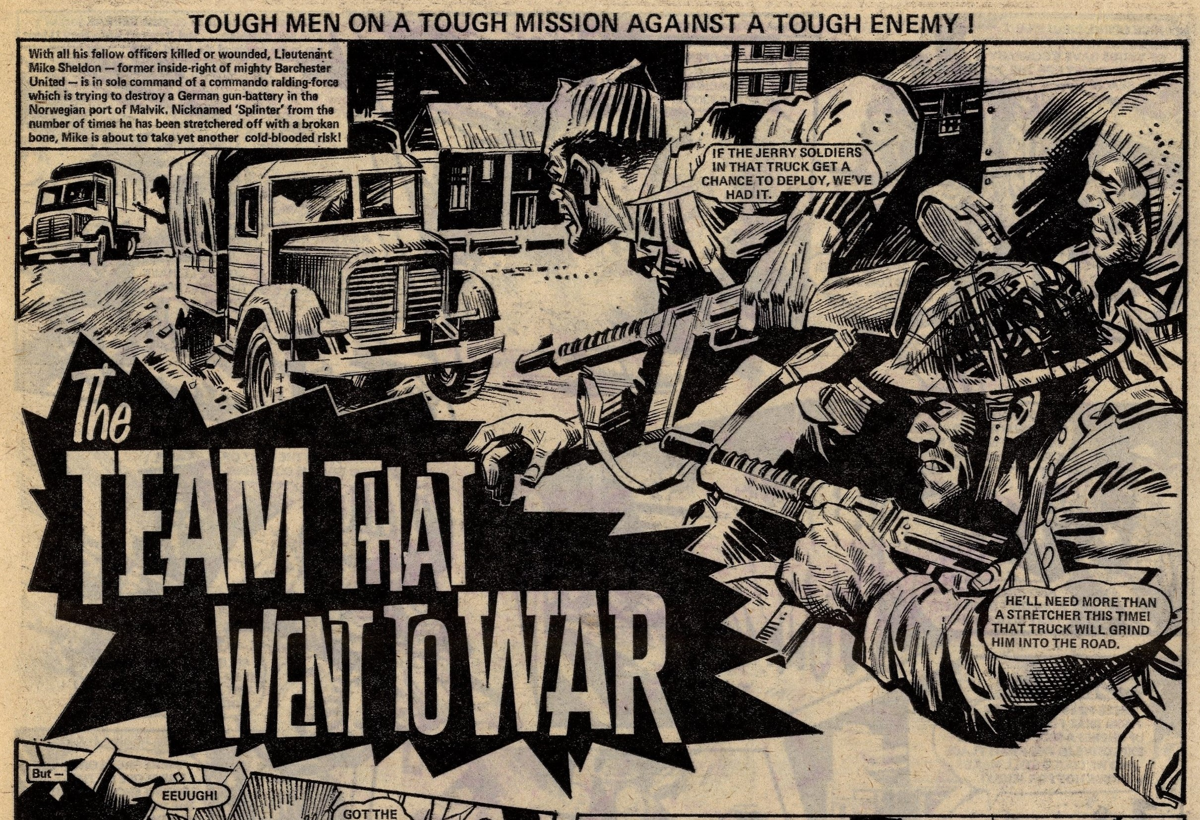 The Team that went to War: Mike Western (artist)