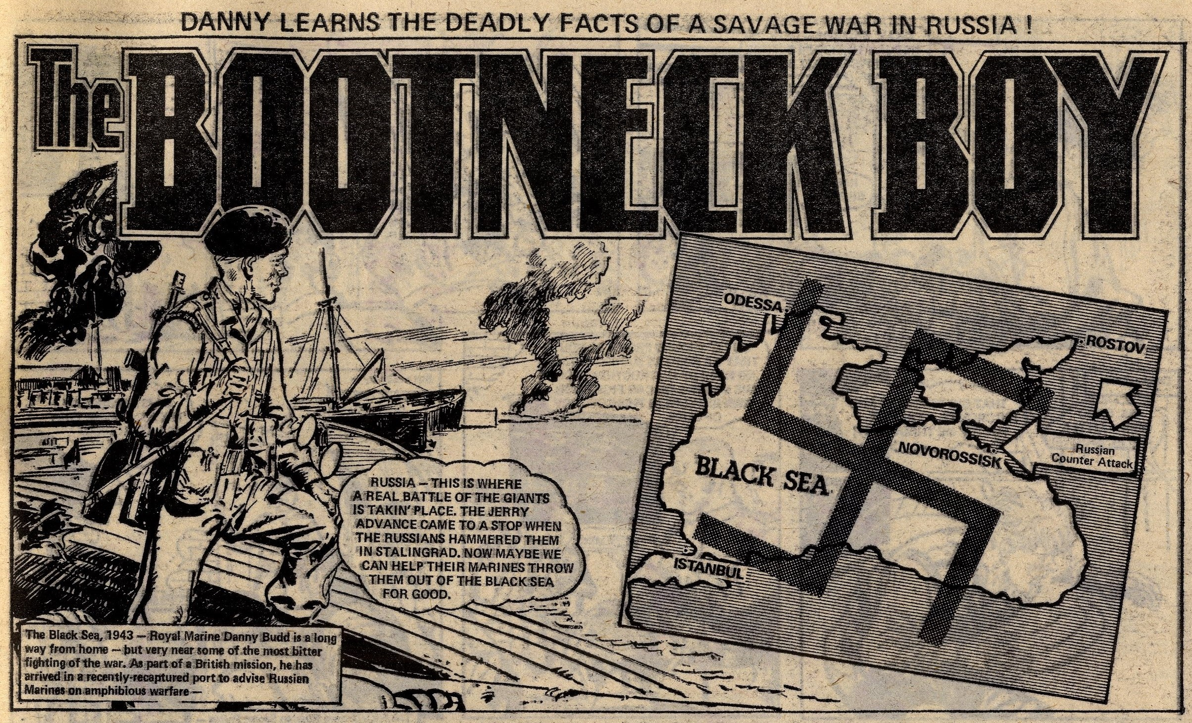 The Bootneck Boy: Giralt (artist)