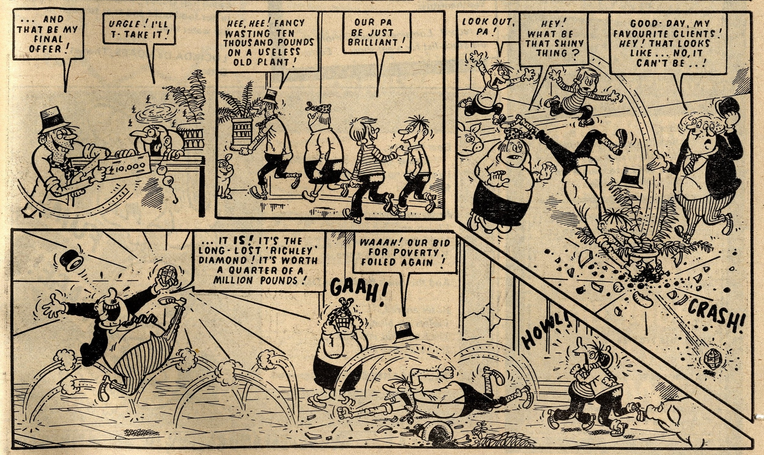 The Bumpkin Billionaires: Mike Lacey? Jimmy Hansen? (artist)