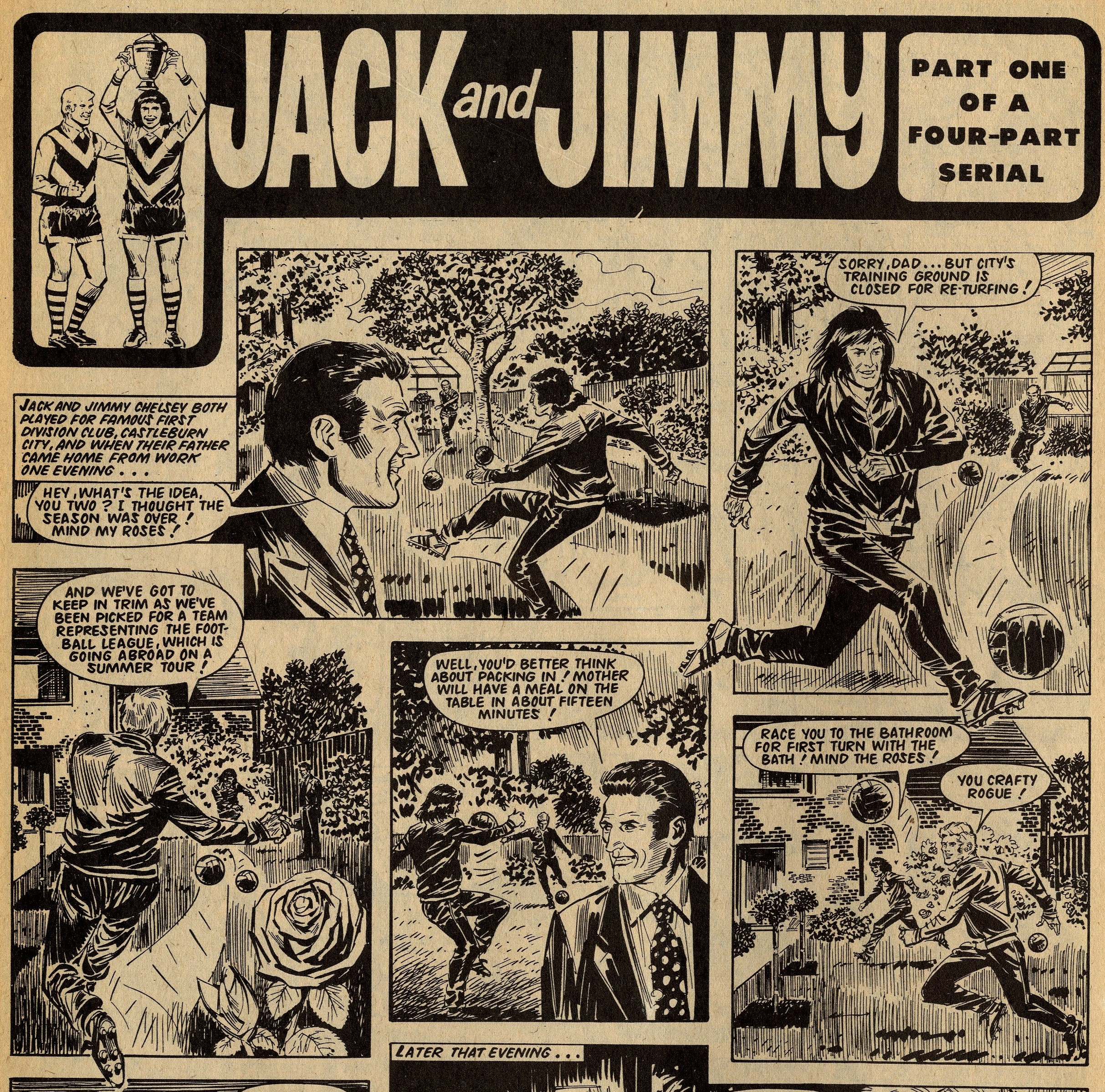 Jack and Jimmy: Barrie Mitchell (artist)