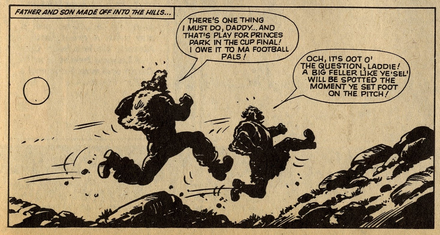 Hot-shot Hamish: Fred Baker (writer), Julio Schiaffino (artist)
