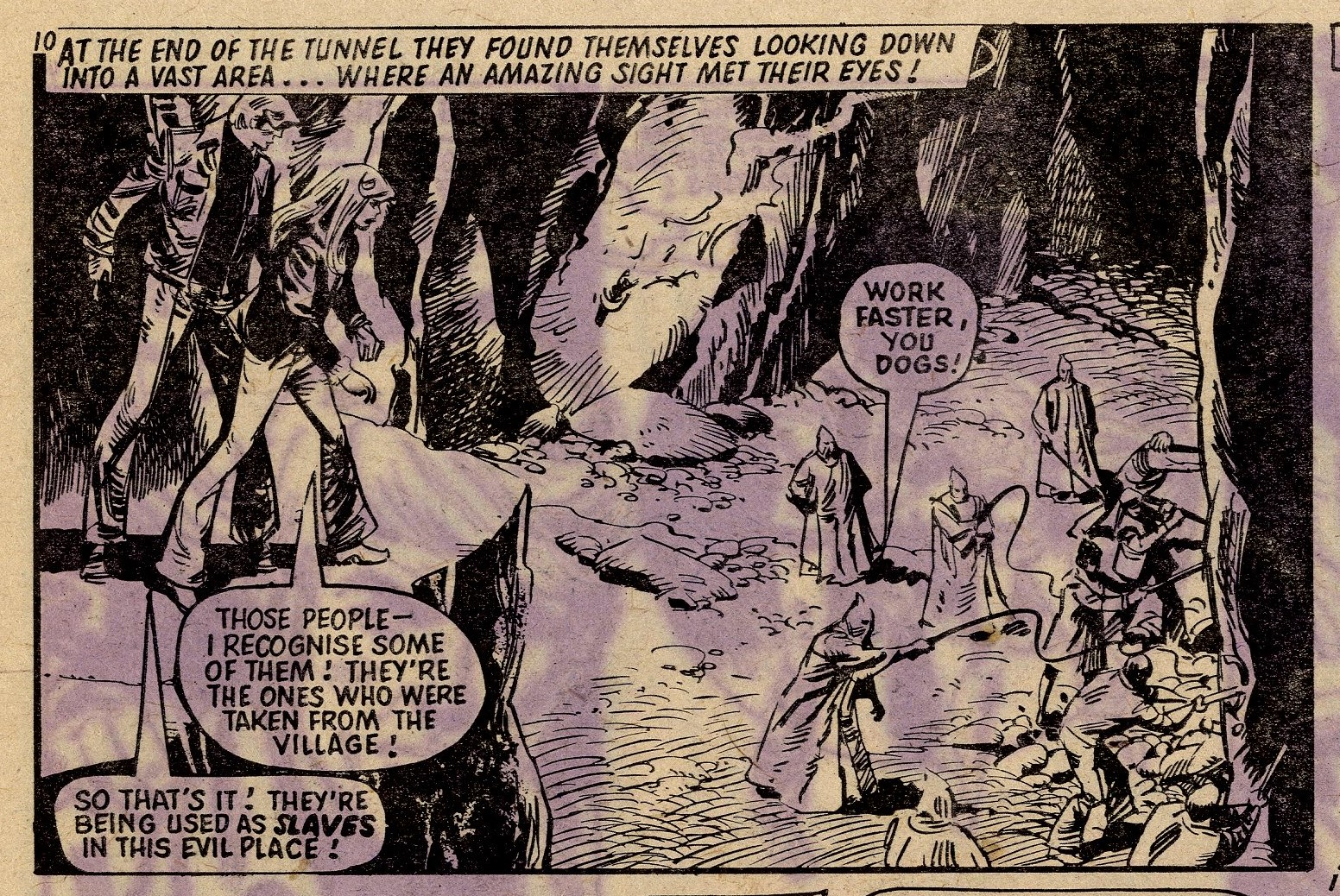 James Bold: The Frightened Village: Mike White (artist)
