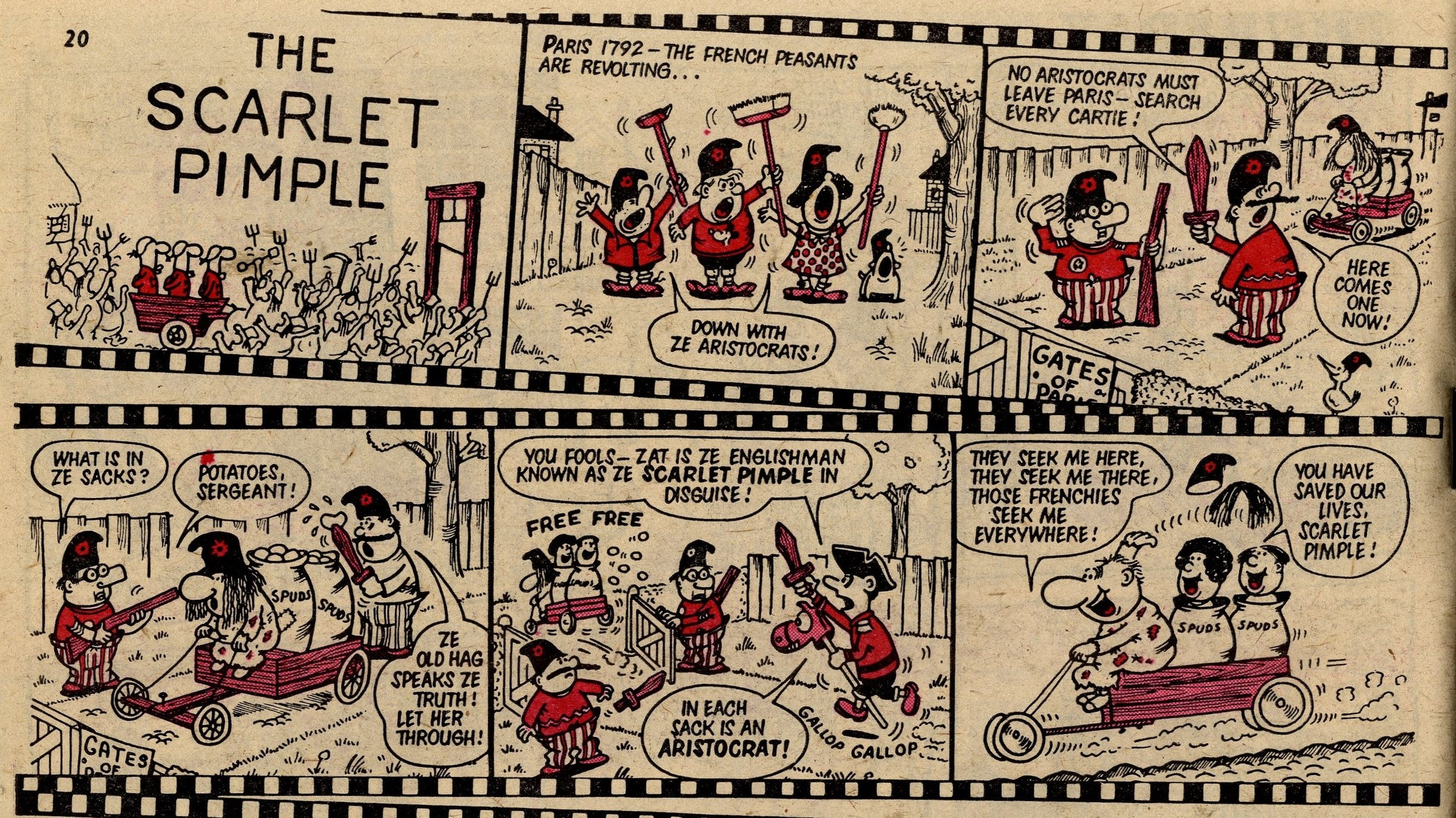 The Scarlet Pimple: Jack Clayton (artist)