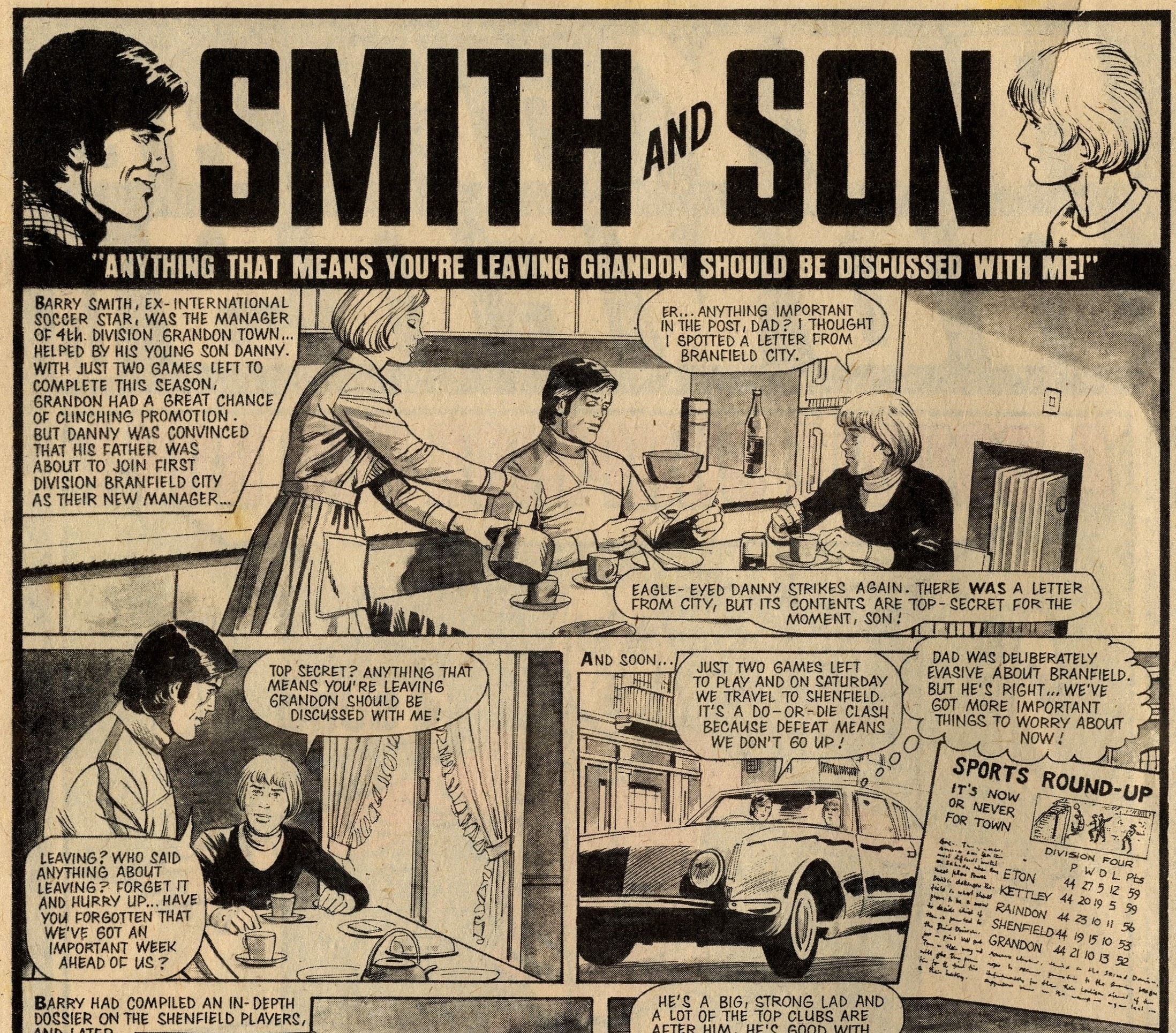 Smith and Son: Paul Gettens (writer)