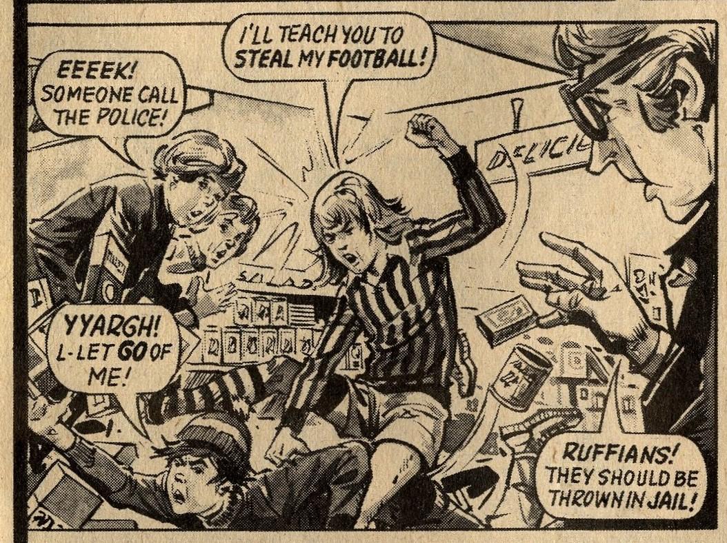 The Football: James Bleach? (artist)