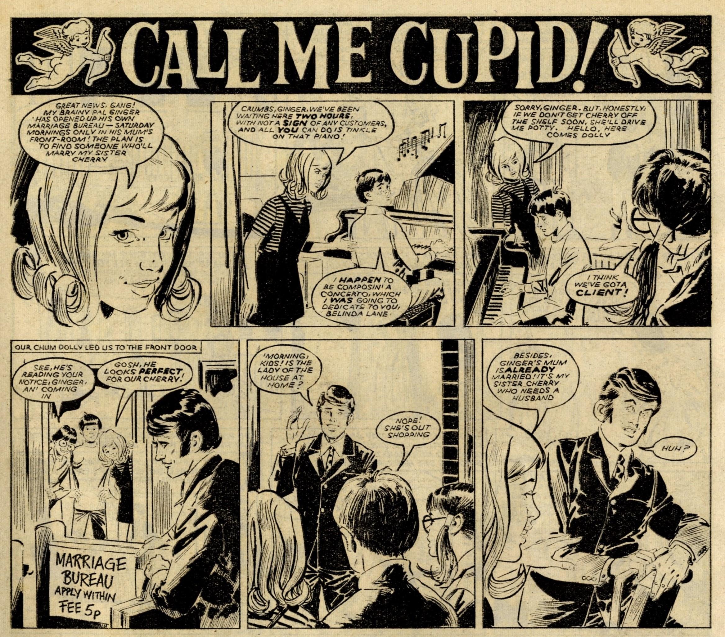 Call Me Cupid!: Bill Baker (artist)