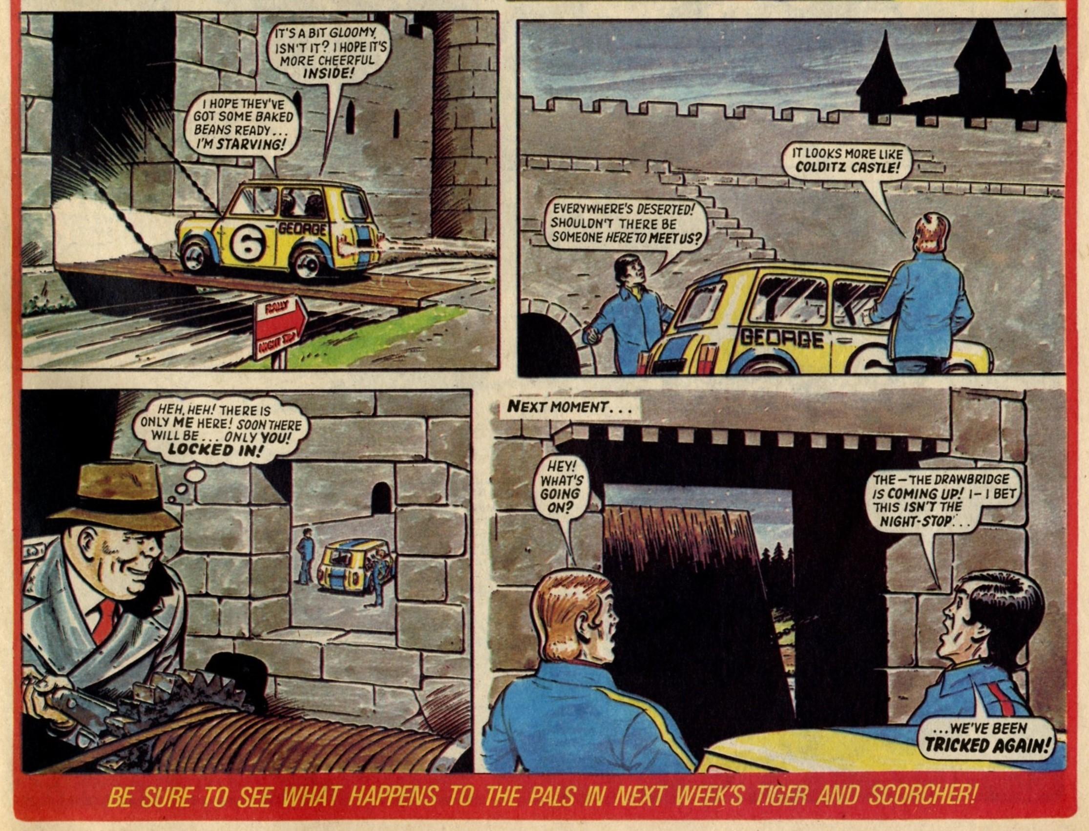 Martin's Marvellous Mini: Fred Baker (writer), David Sque (artist)
