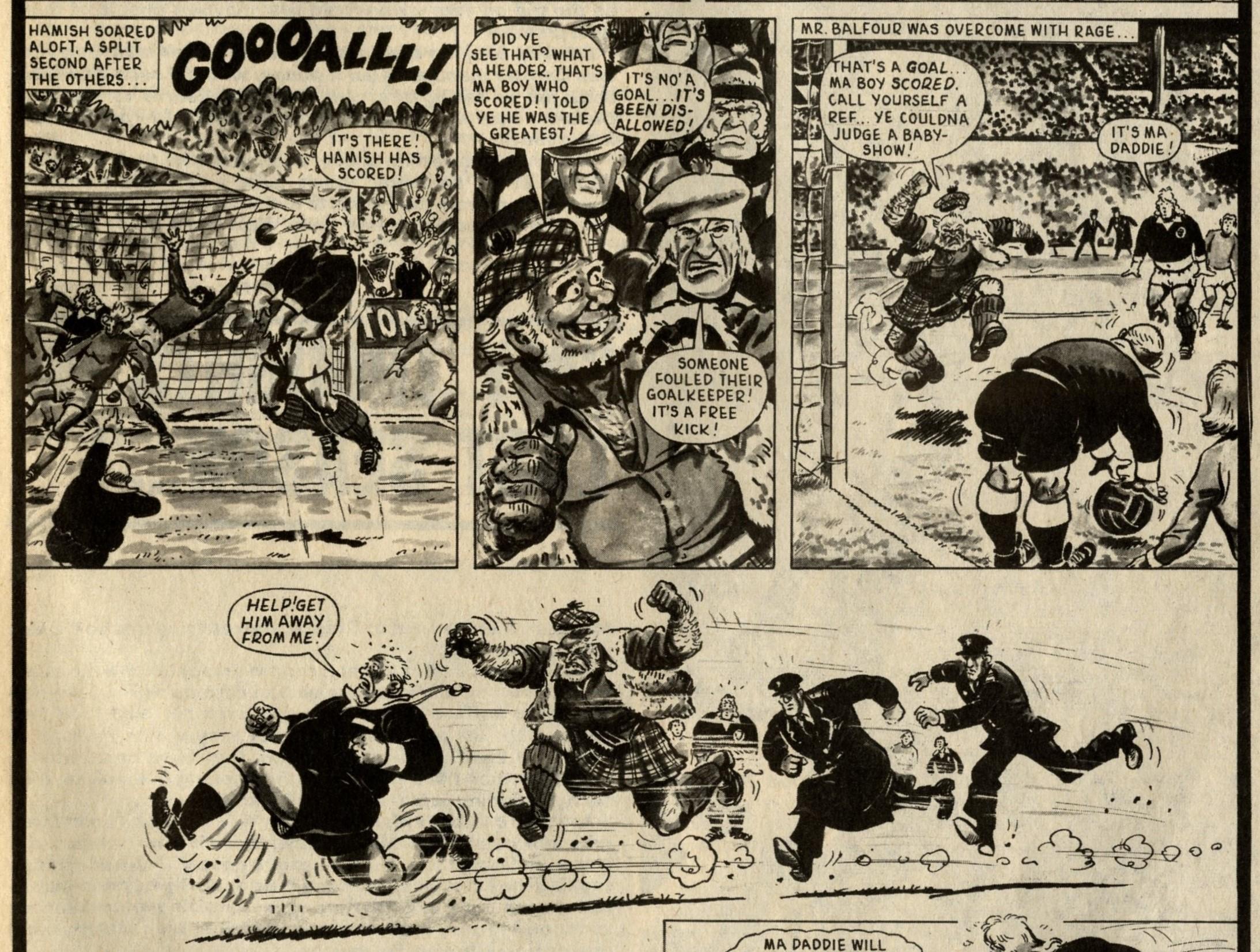 Hot-shot Hamist: Fred Baker (writer), Julio Schiaffino (artist)