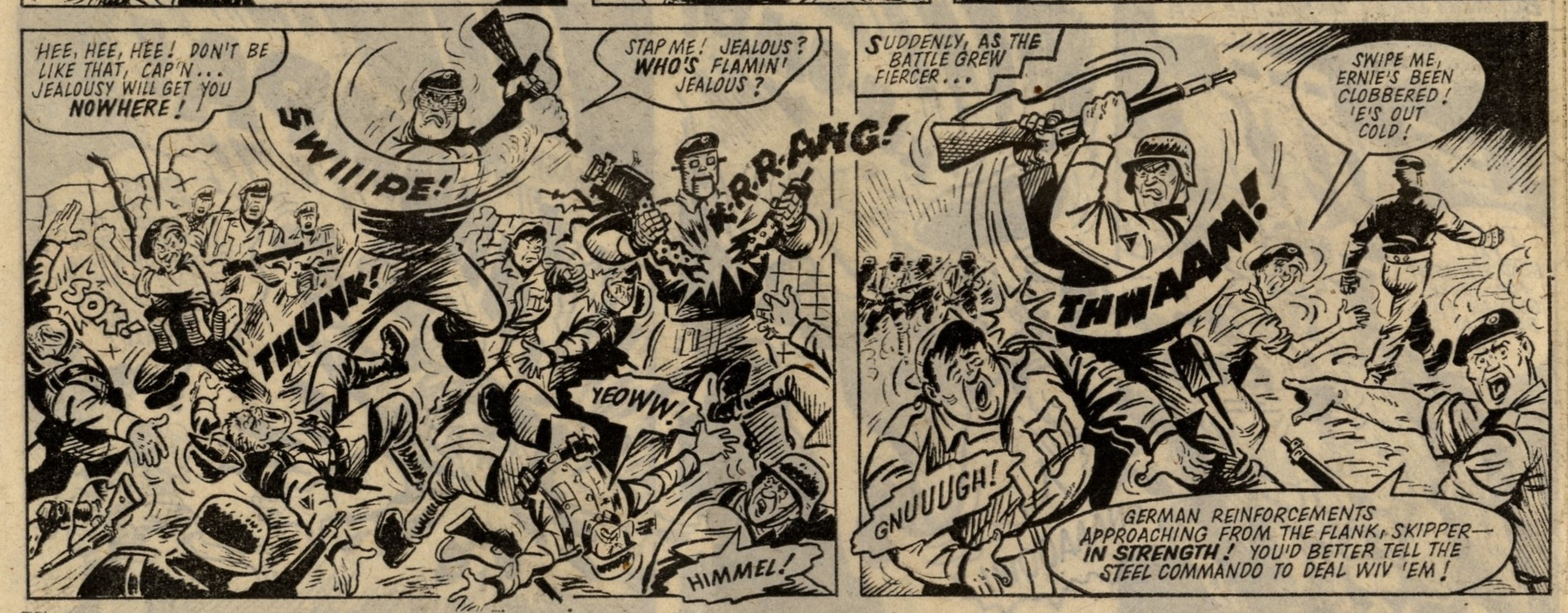 Captain Hurricane Meets Steel Commando: Charles Roylance (artist)