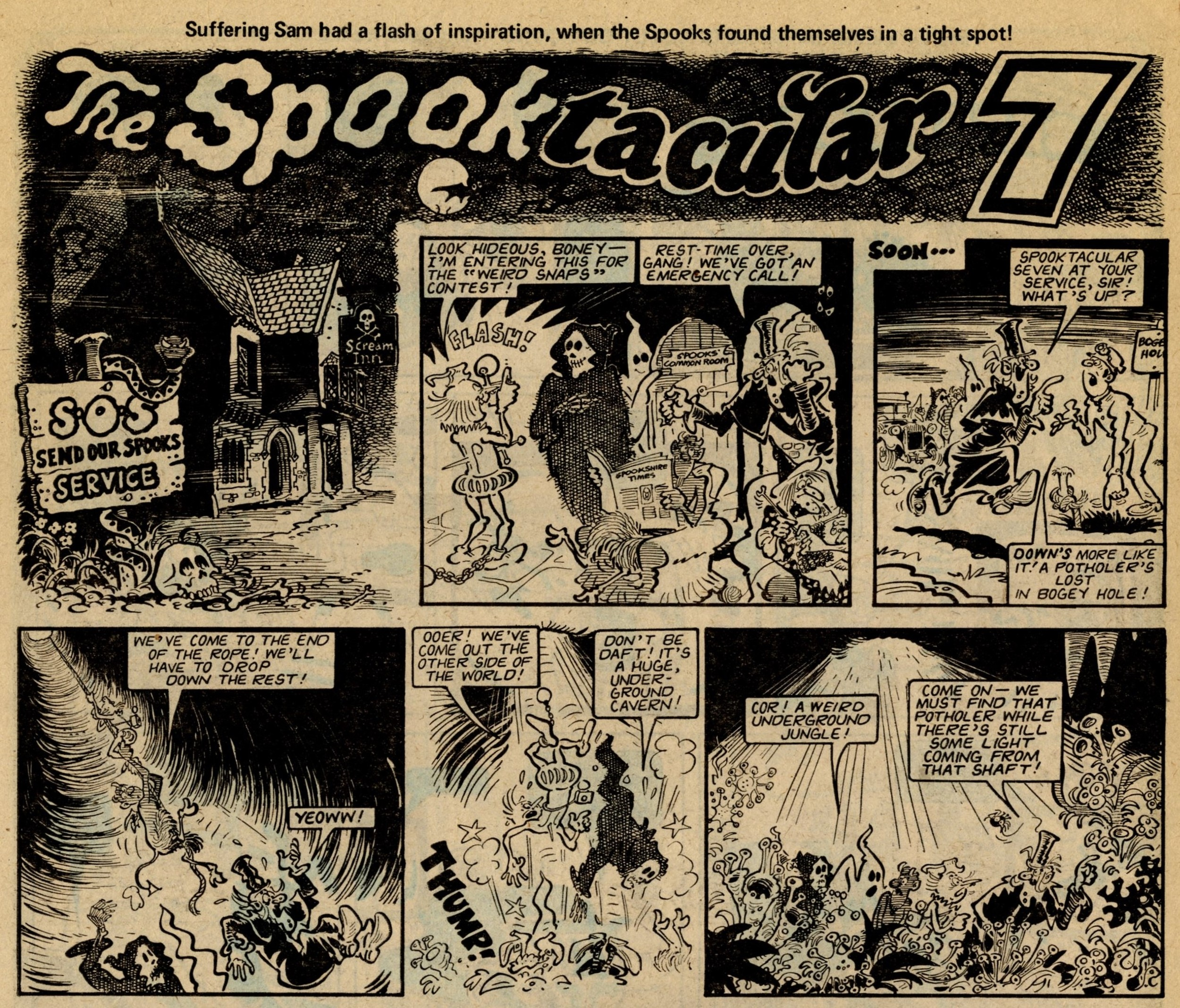 The Spooktacular 7: Brian Walker (artist)