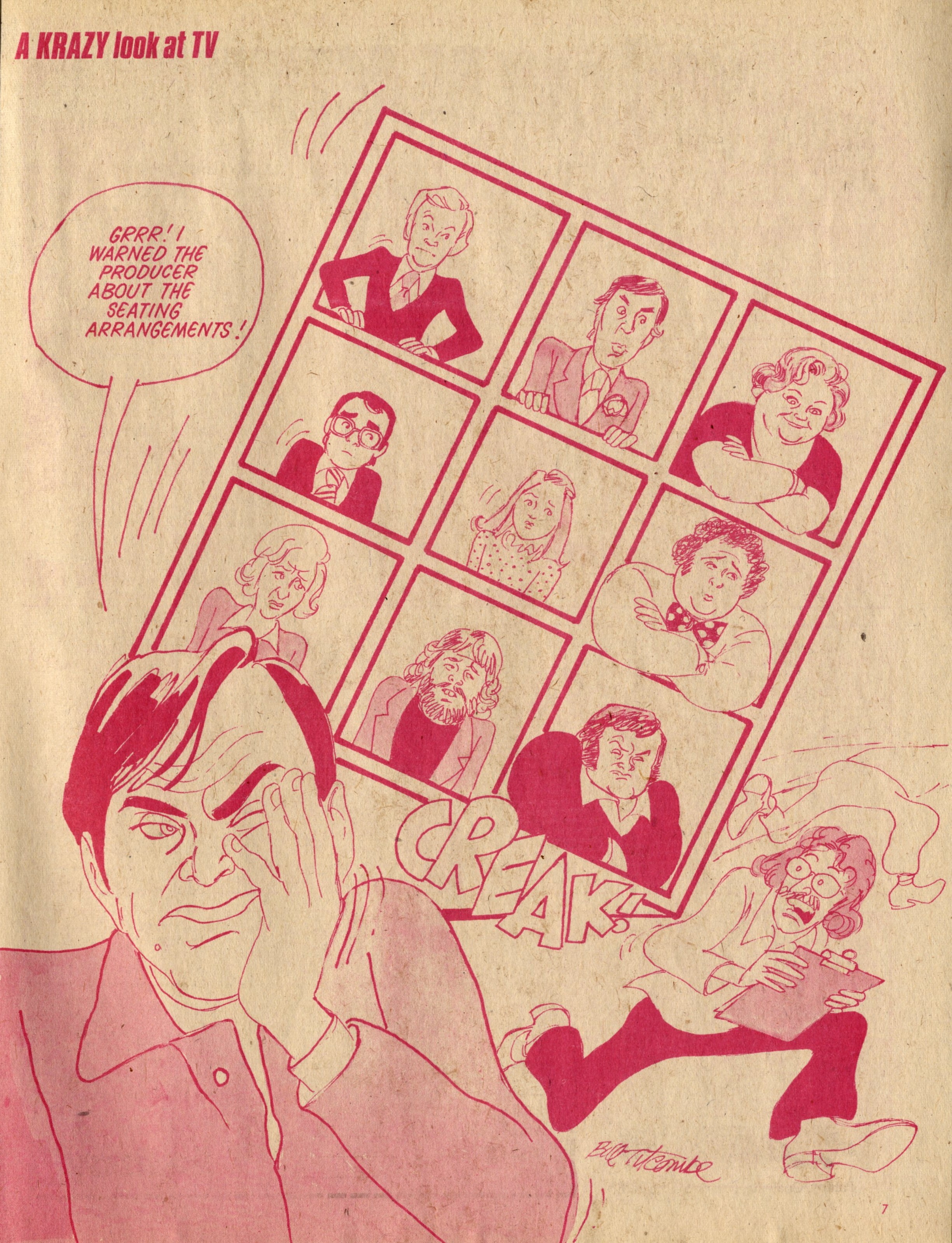 A Krazy Look at TV: Bill Titcombe (artist)