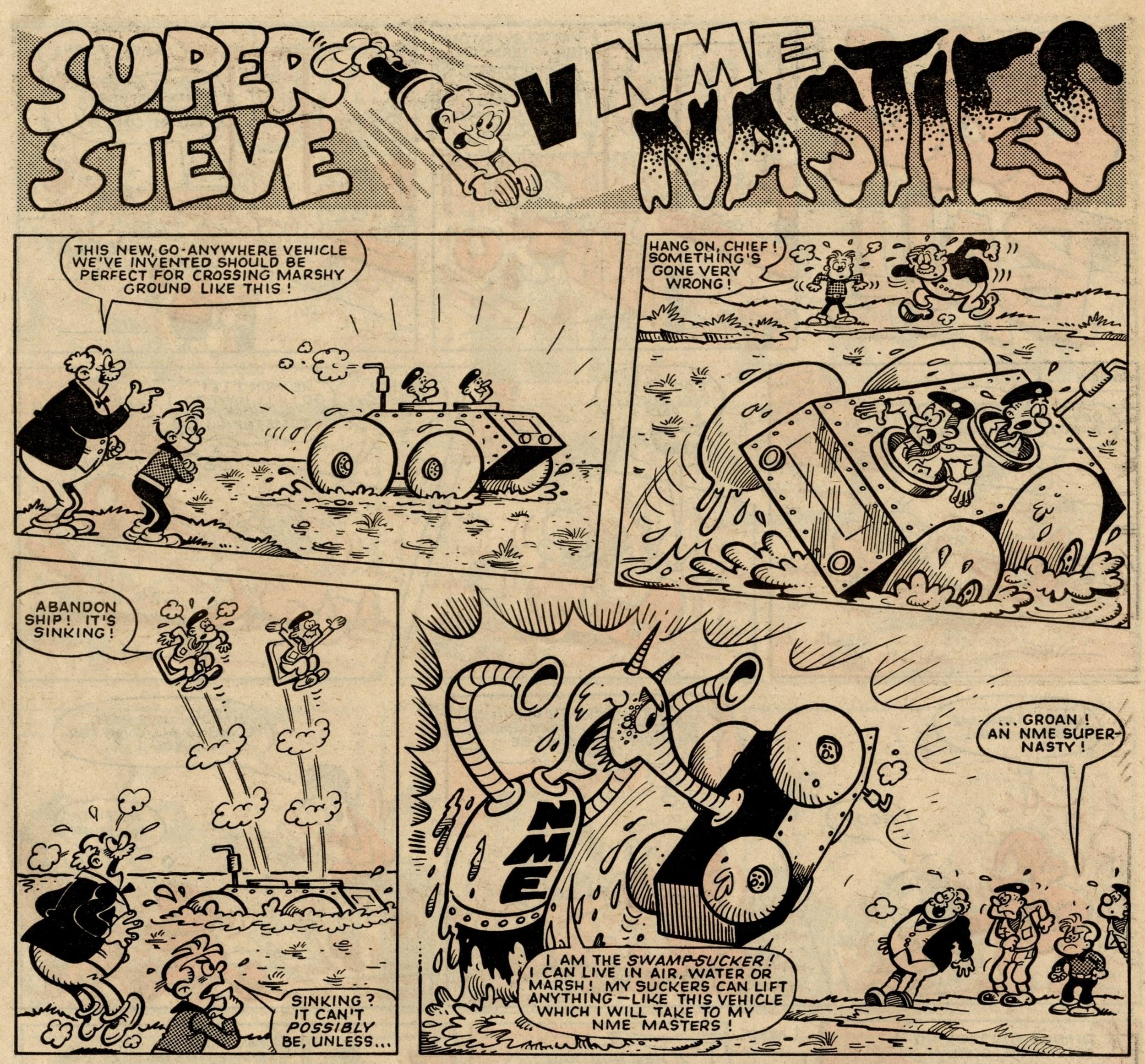 Super Steve v NME Nasties: Robert Nixon (artist)